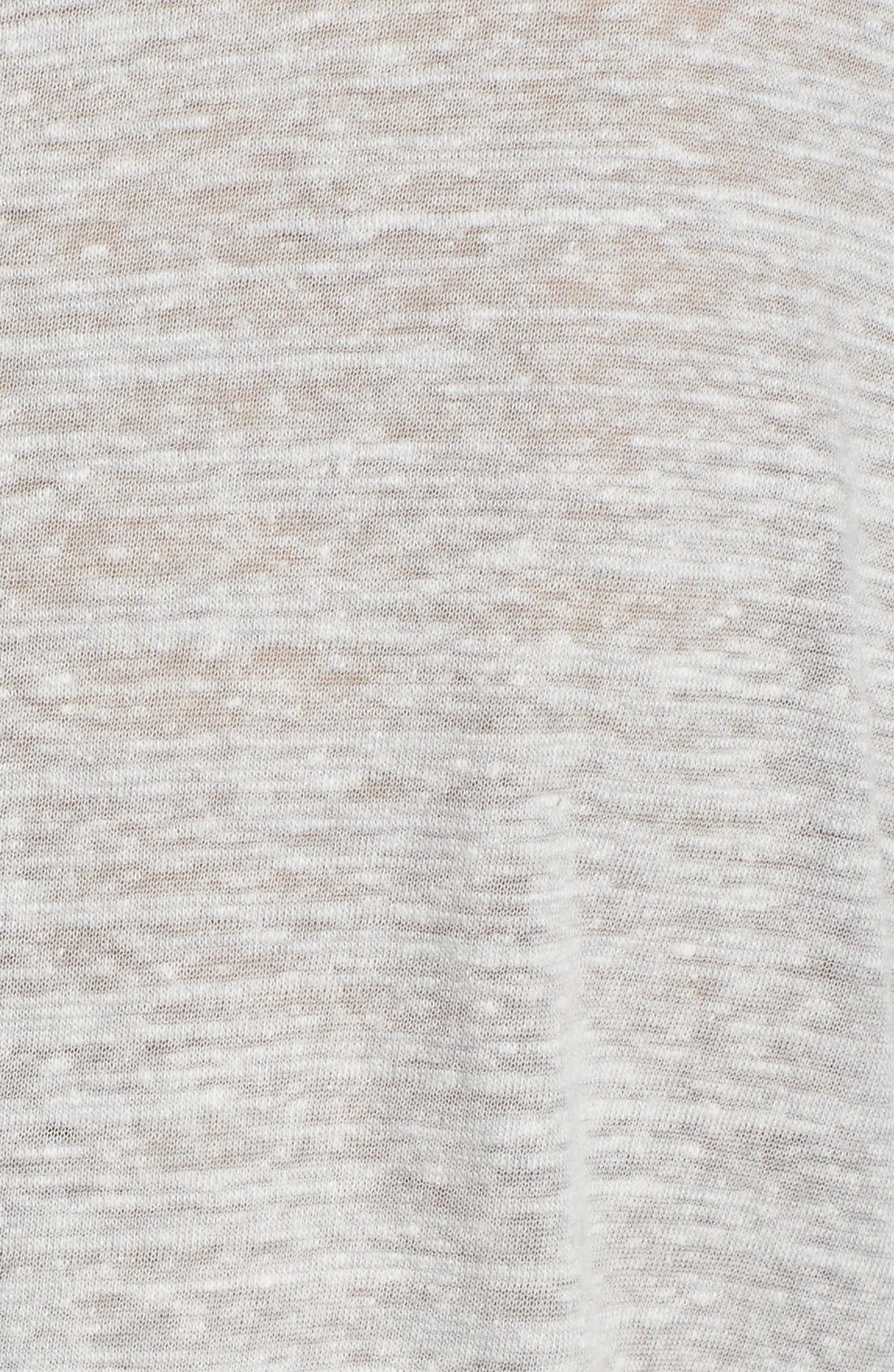 Alternate Image 5  - Caslon® Crossover Front Tee (Regular & Petite)