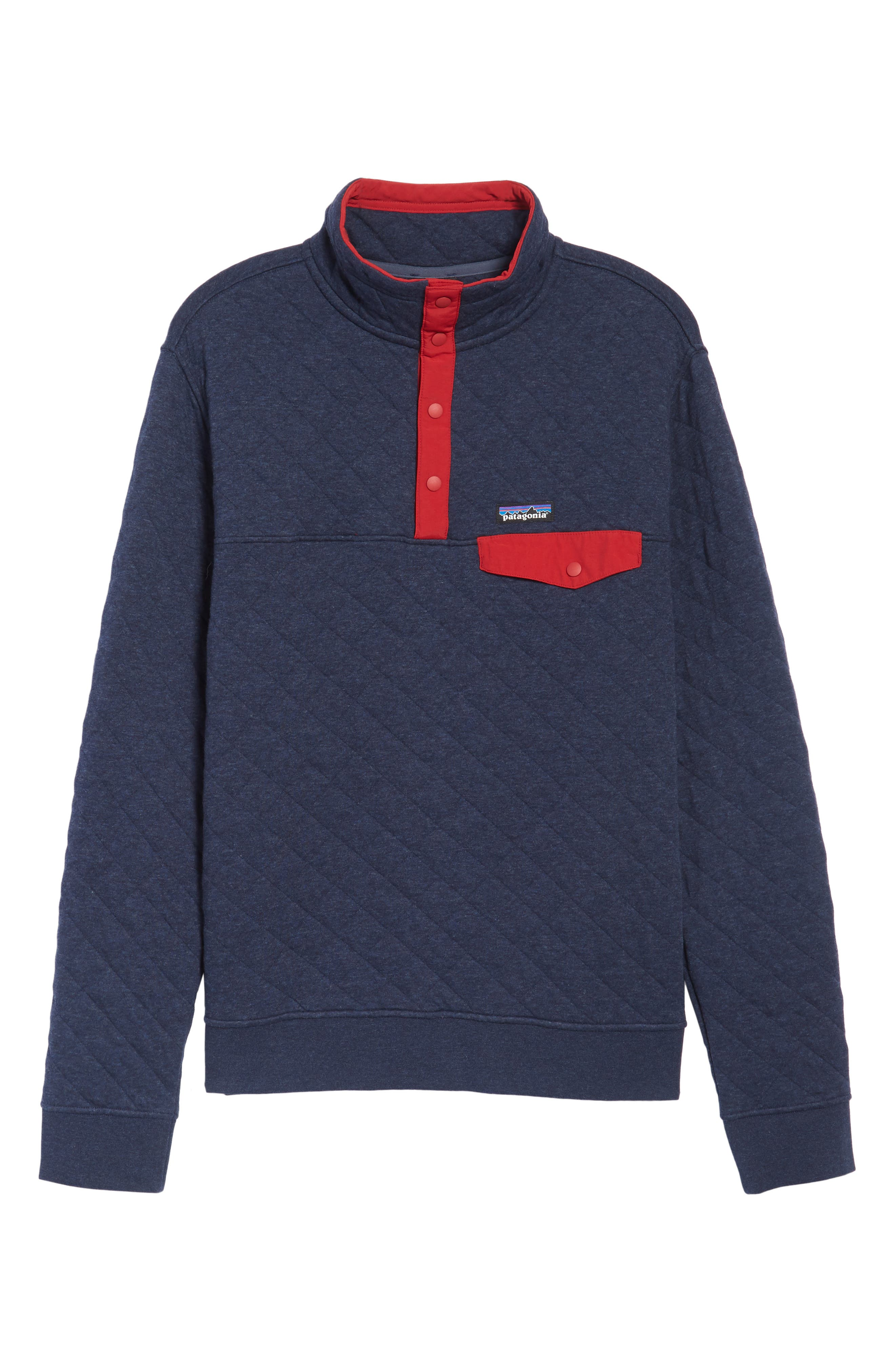 Alternate Image 6  - Patagonia Snap-T Quilted Fleece Pullover