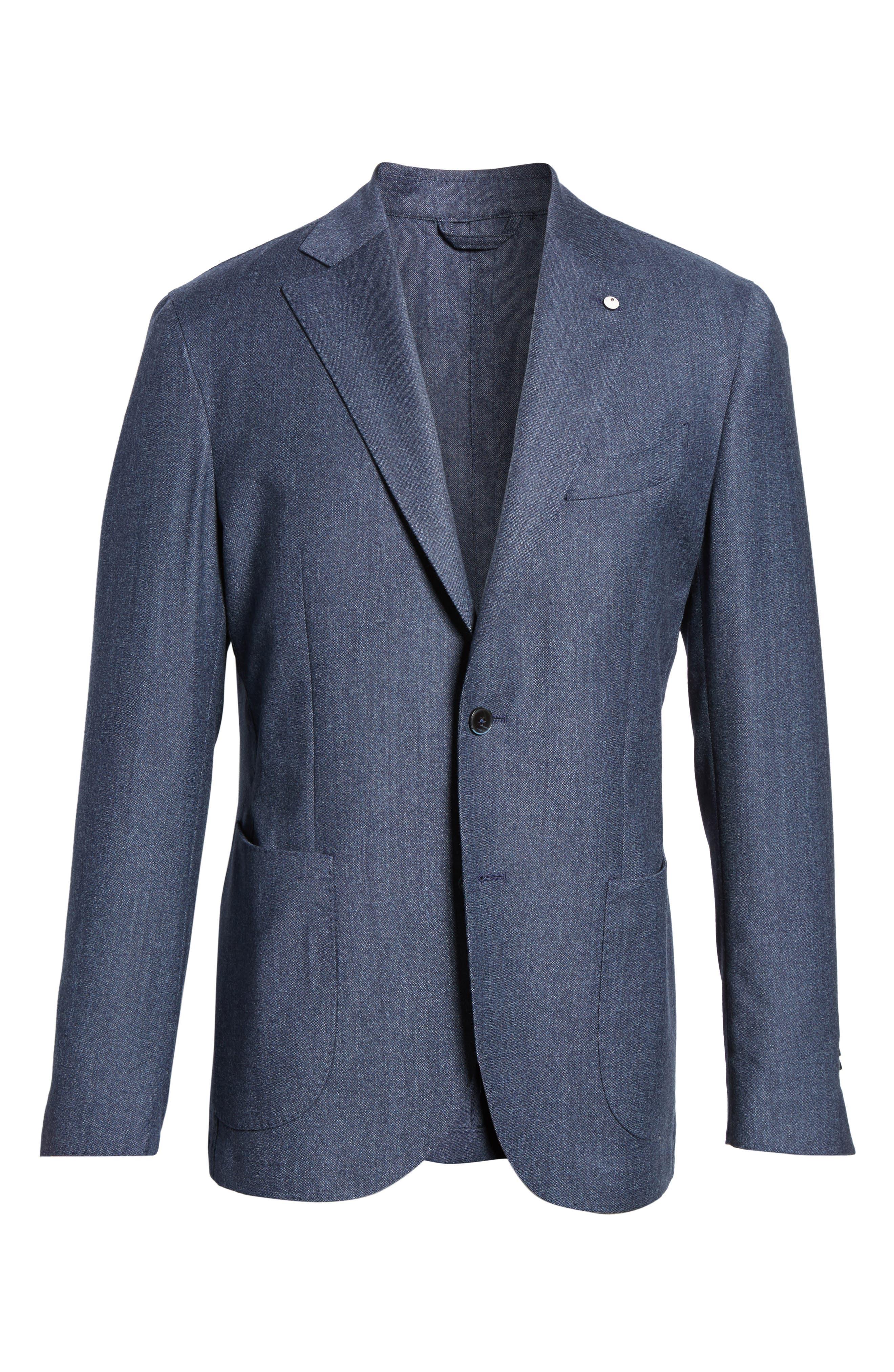 Alternate Image 6  - L.B.M. 1911 Classic Fit Wool Blazer