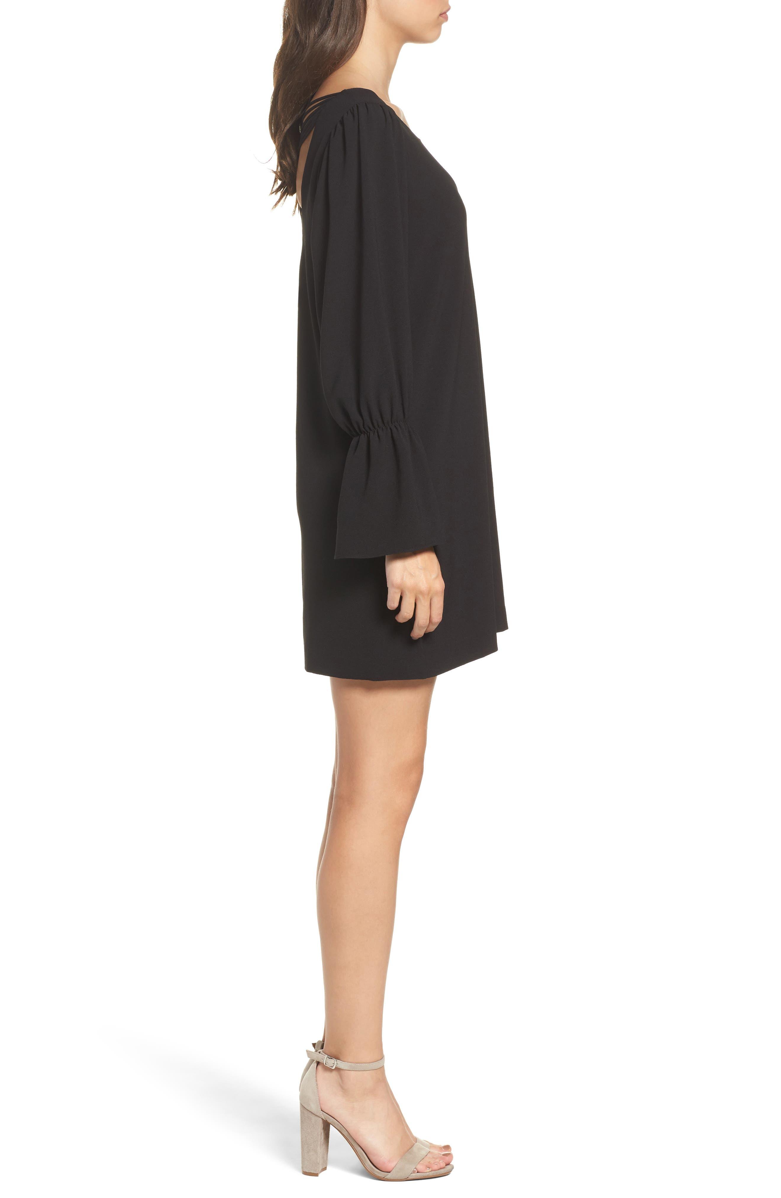 Alternate Image 3  - Felicity & Coco Farrah Cross Back Minidress (Nordstrom Exclusive)