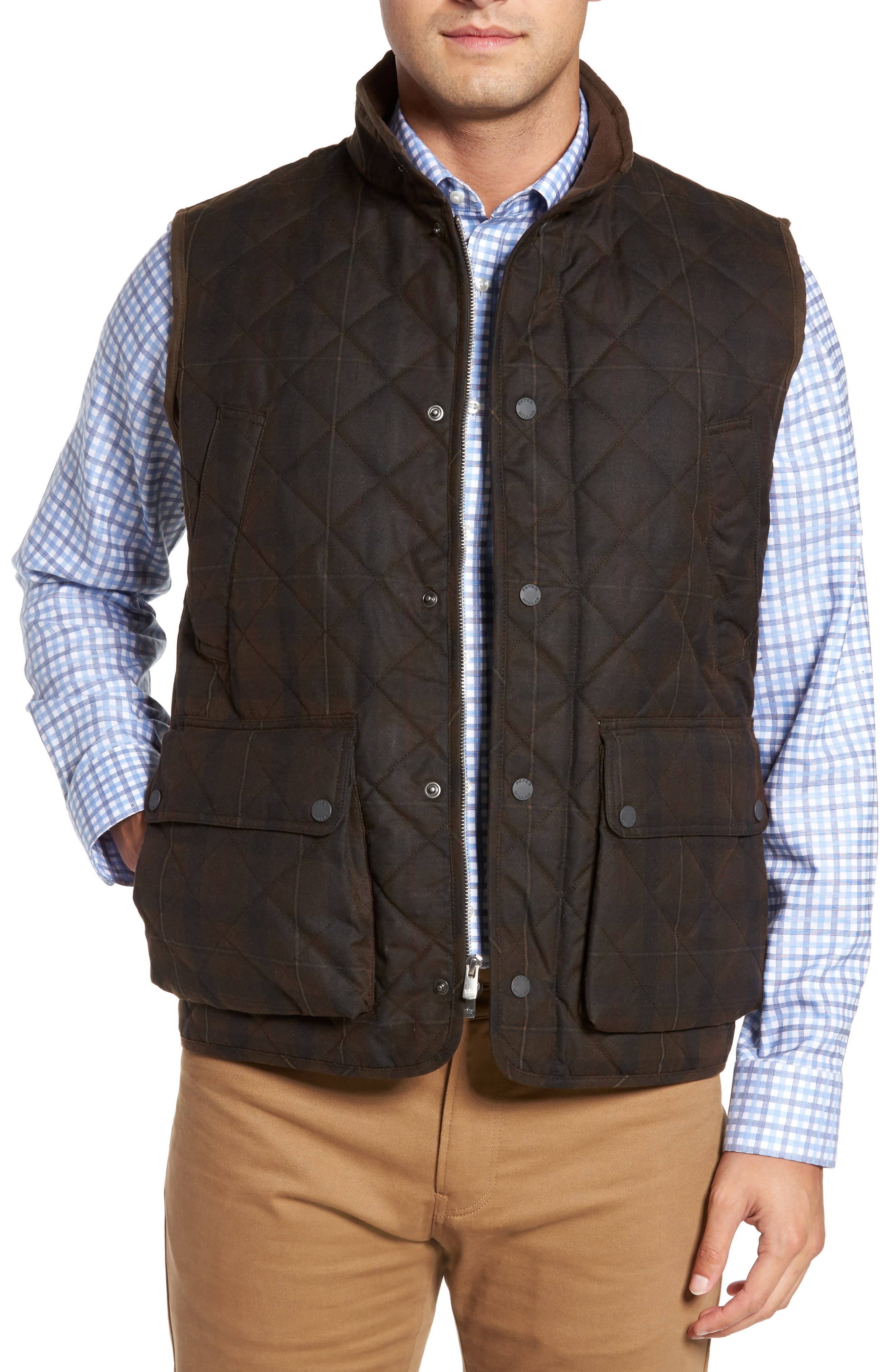 Peter Millar Mountainside Waxed Cotton Vest