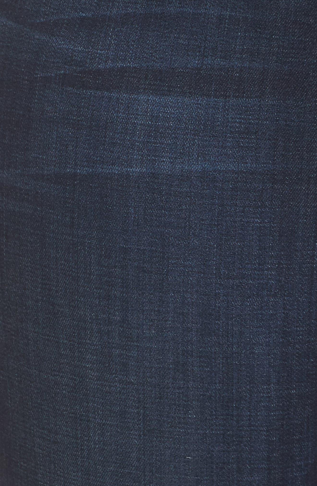 Good Legs High Waist Ankle Skinny Jeans,                             Alternate thumbnail 8, color,                             Blue 089