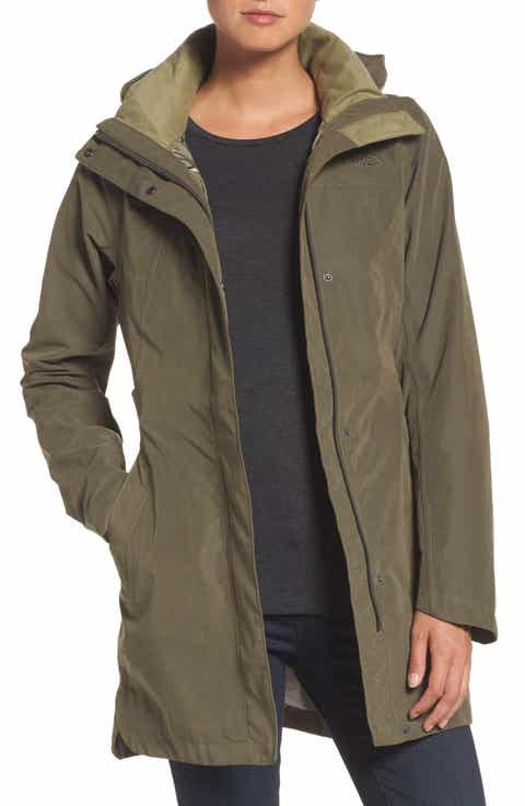 Women's Mid-Length Rain Coats & Jackets | Nordstrom