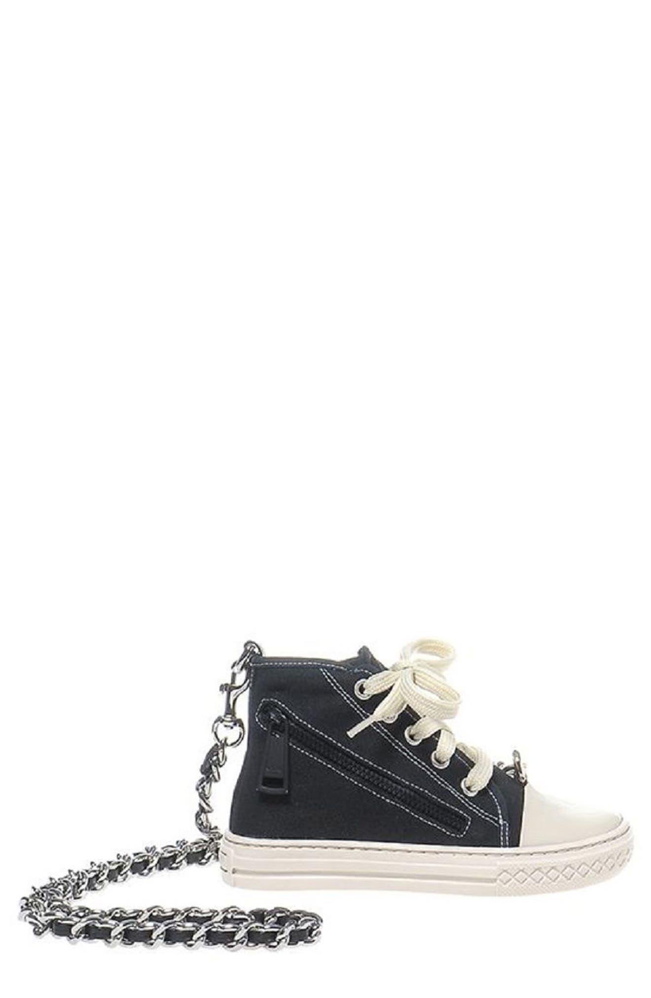 Alternate Image 1 Selected - Moschino Sneaker Shoulder Bag