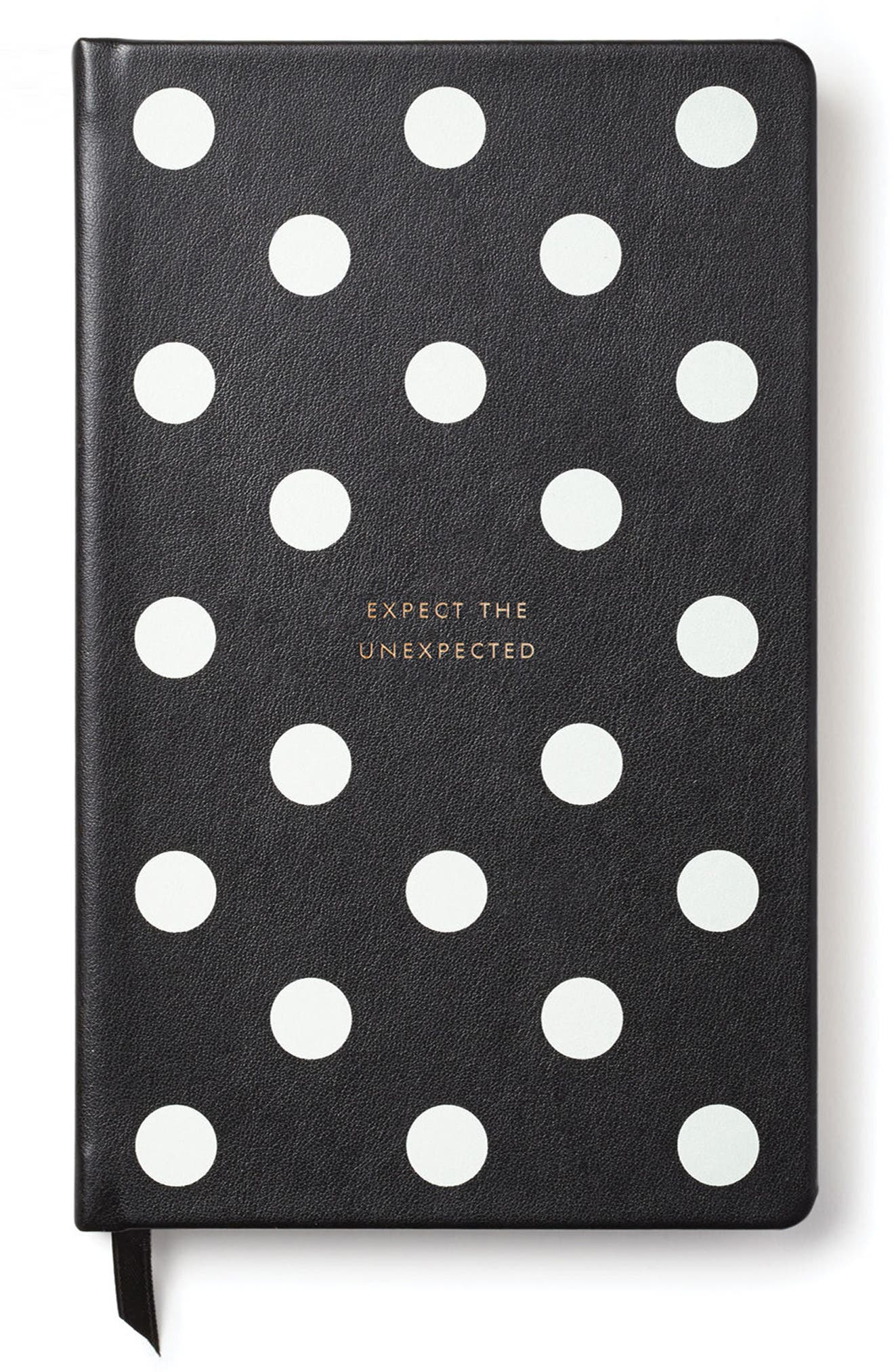 deco dots pregnancy journal,                             Main thumbnail 1, color,                             Black