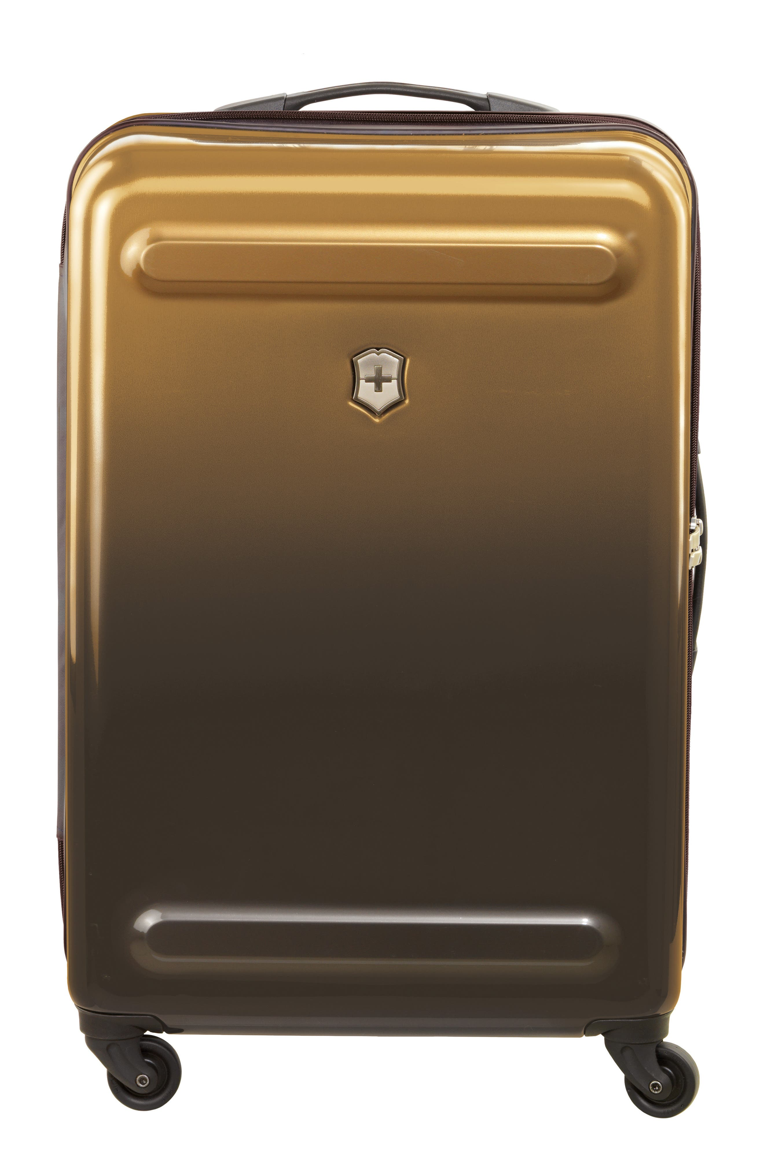Etherius 26-Inch Wheeled Suitcase,                             Main thumbnail 1, color,                             Bronze