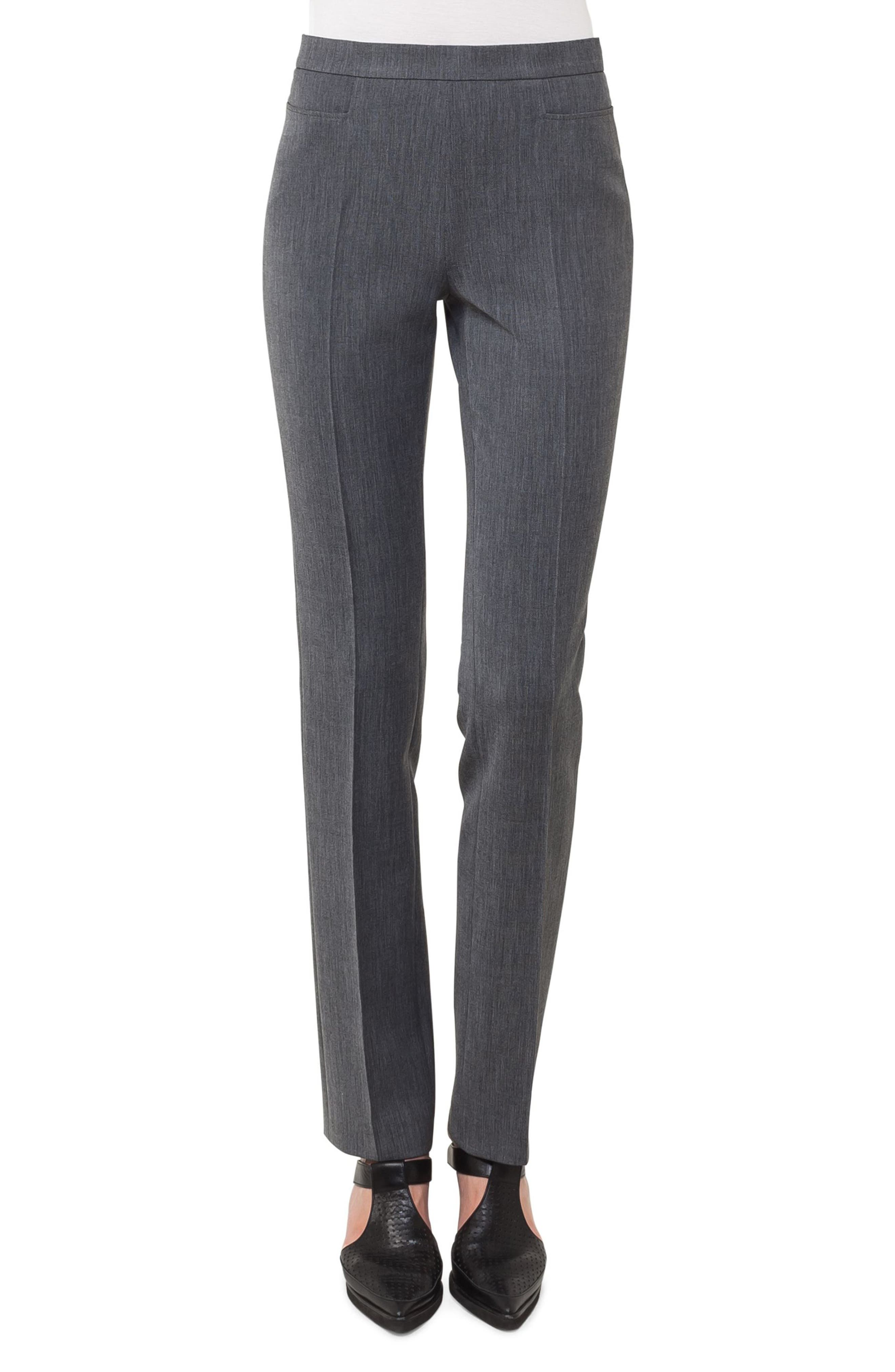 Francoise Jersey Pants,                         Main,                         color, Black Denim