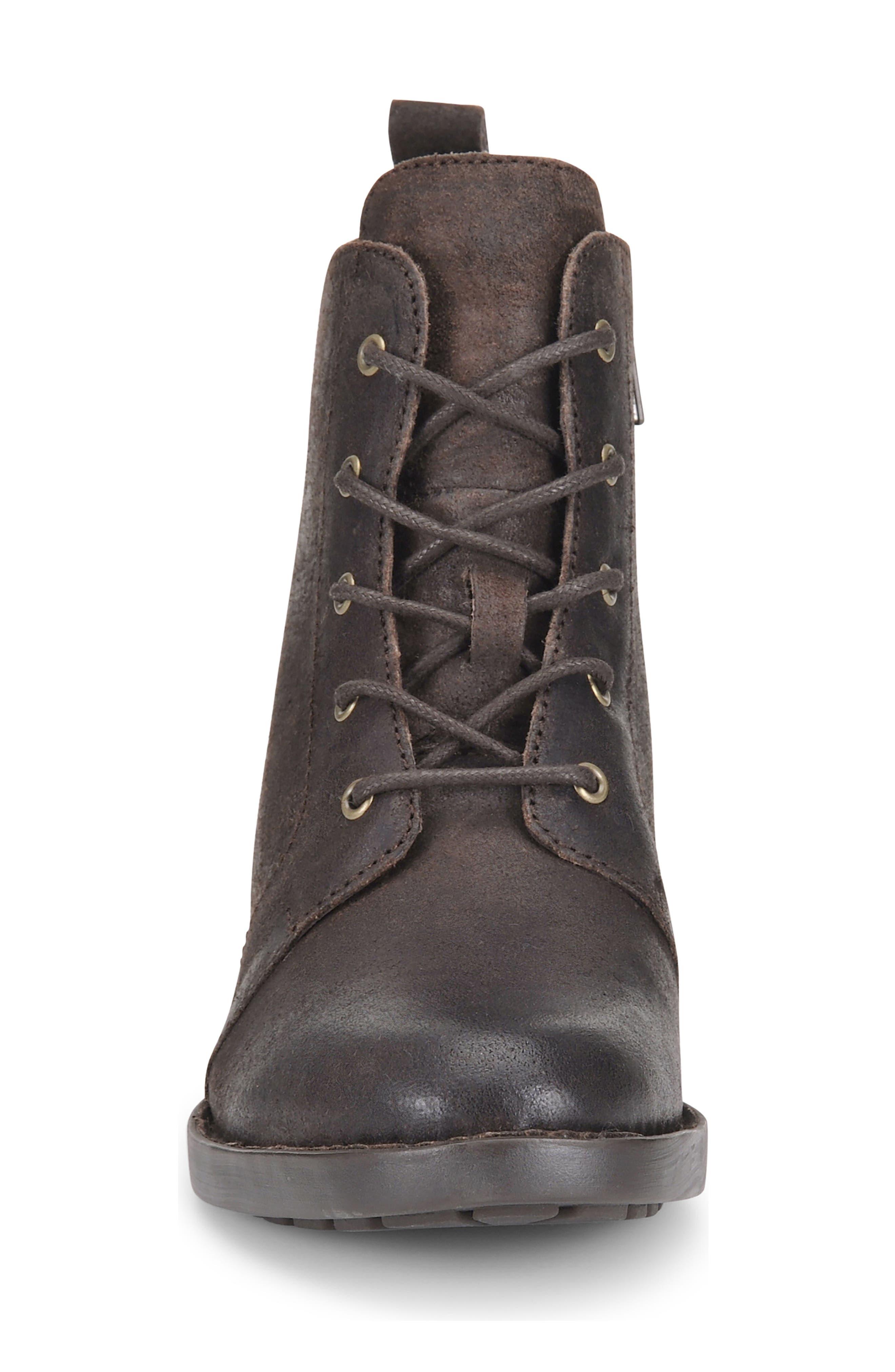 Alternate Image 4  - Børn Troye Vintage Lace-Up Boot (Women)