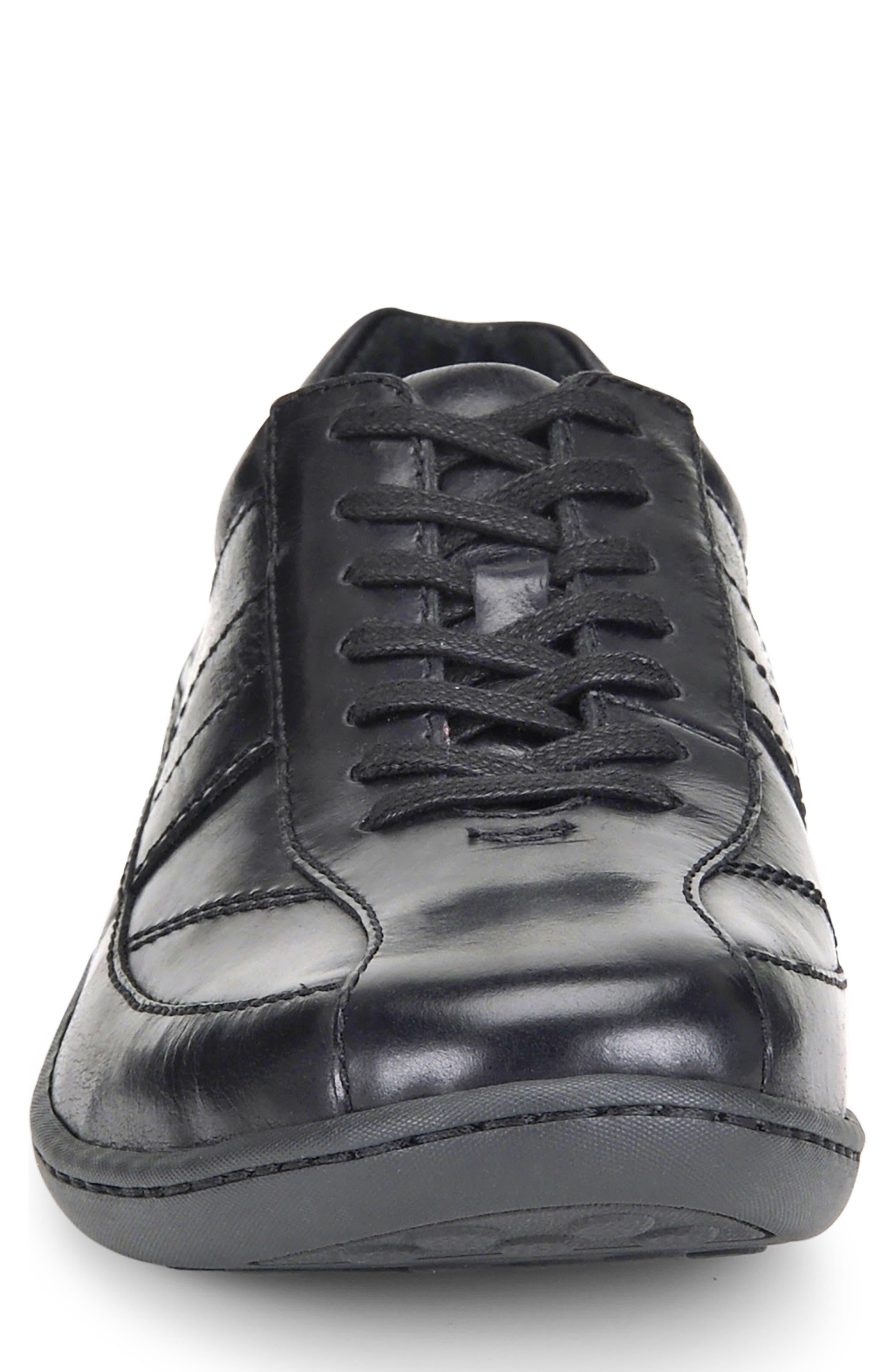 Breves Low Top Sneaker,                             Alternate thumbnail 4, color,                             Black
