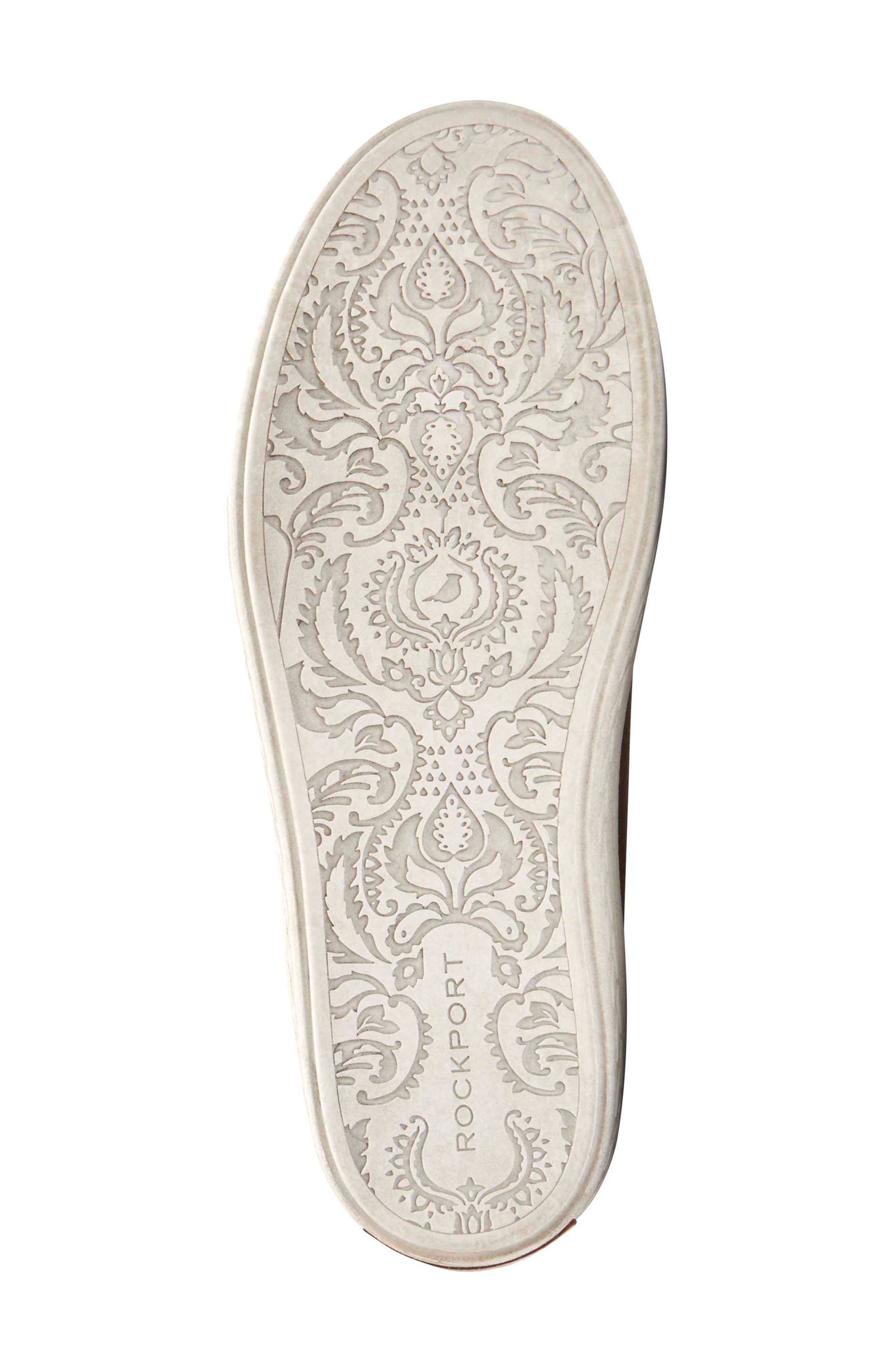 Willa Sneaker,                             Alternate thumbnail 6, color,                             Almond Leather