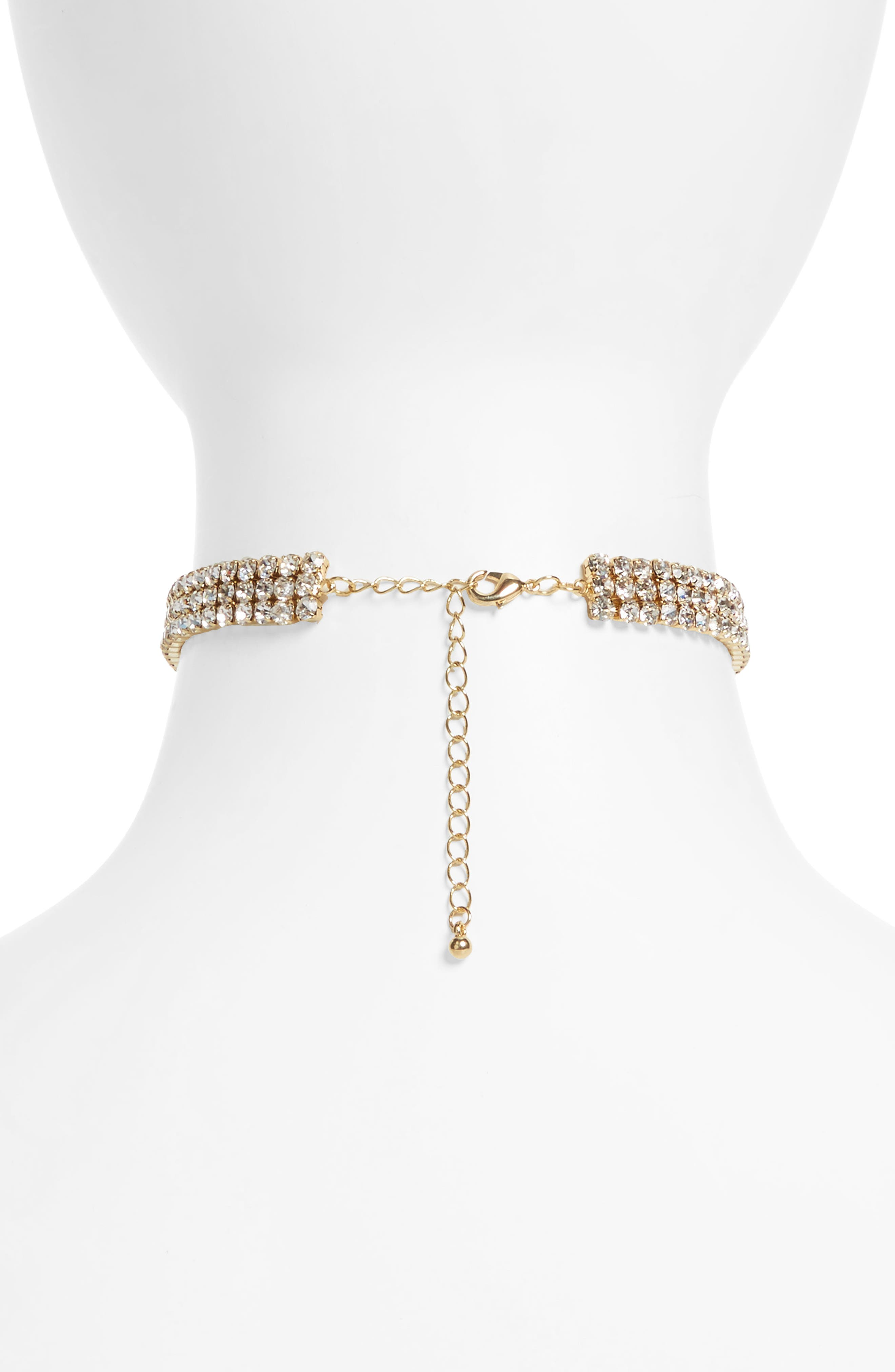 Alternate Image 2  - BP. Crystal Choker