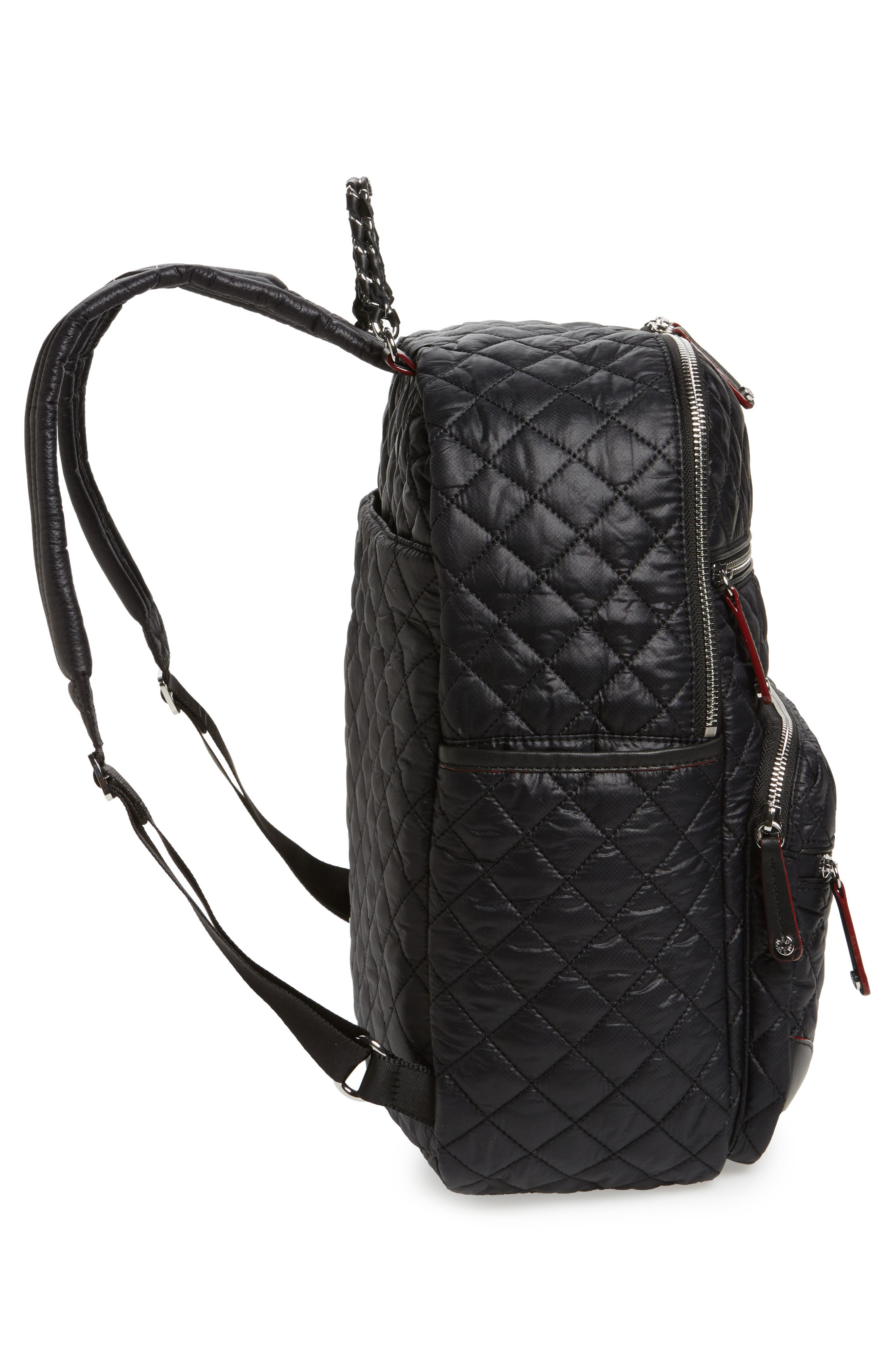 Alternate Image 5  - MZ Wallace Crosby Quilted Oxford Nylon Backpack