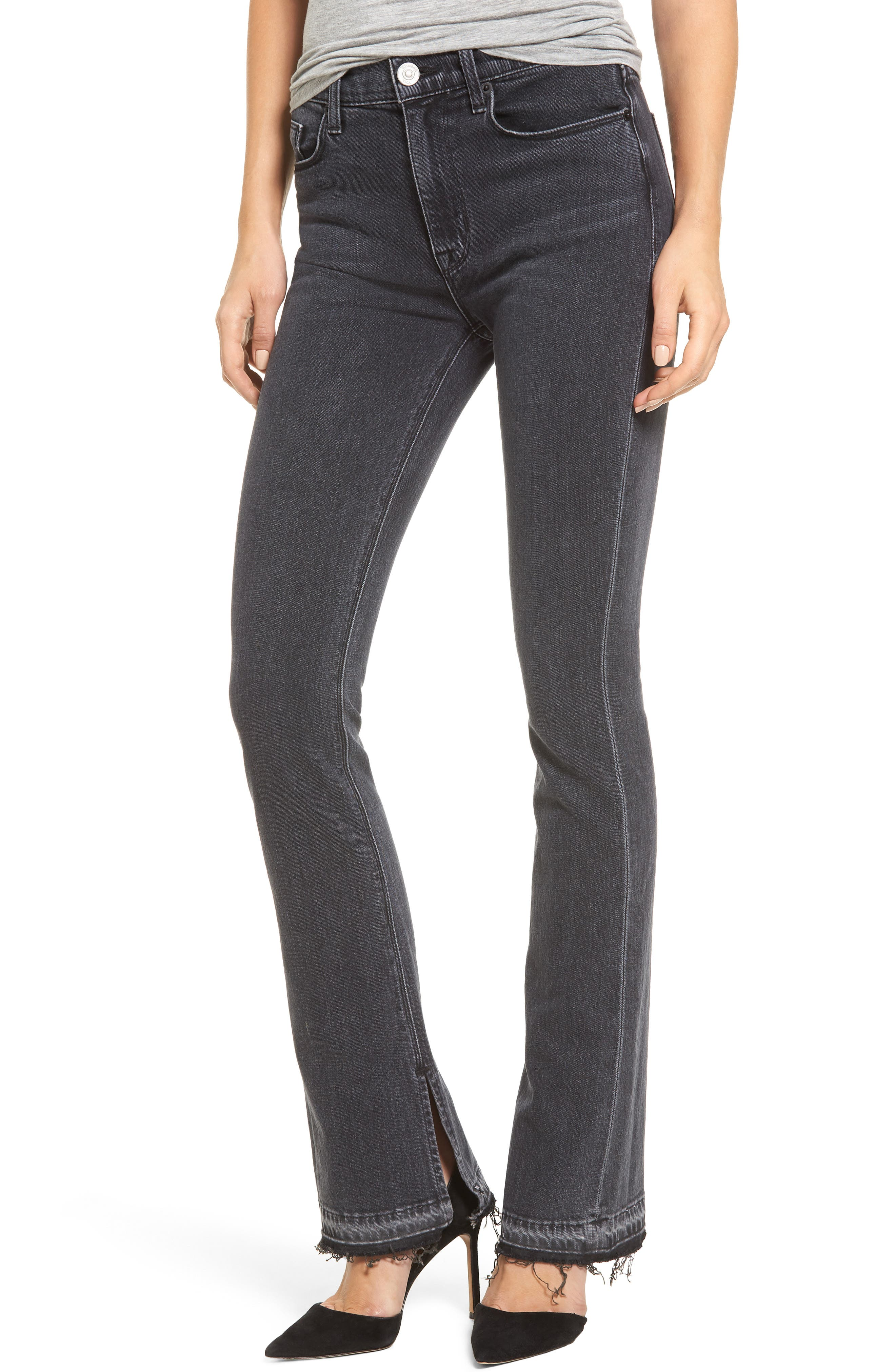 Alternate Image 1 Selected - Hudson Jeans Heartbreaker High Waist Bootcut Jeans (Cry Later)