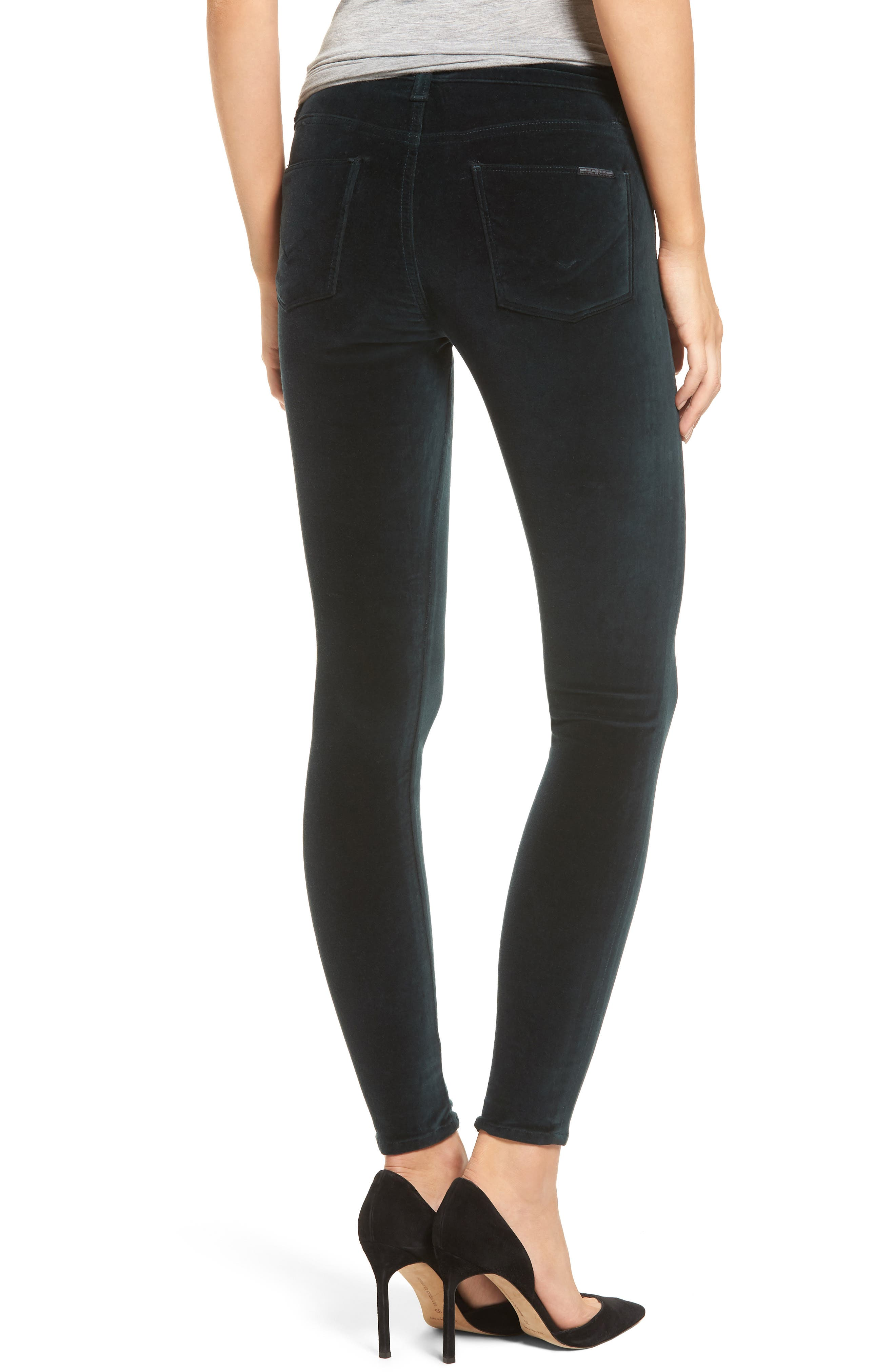 Alternate Image 2  - Hudson Jeans Barbara High Waist Ankle Super Skinny Jeans