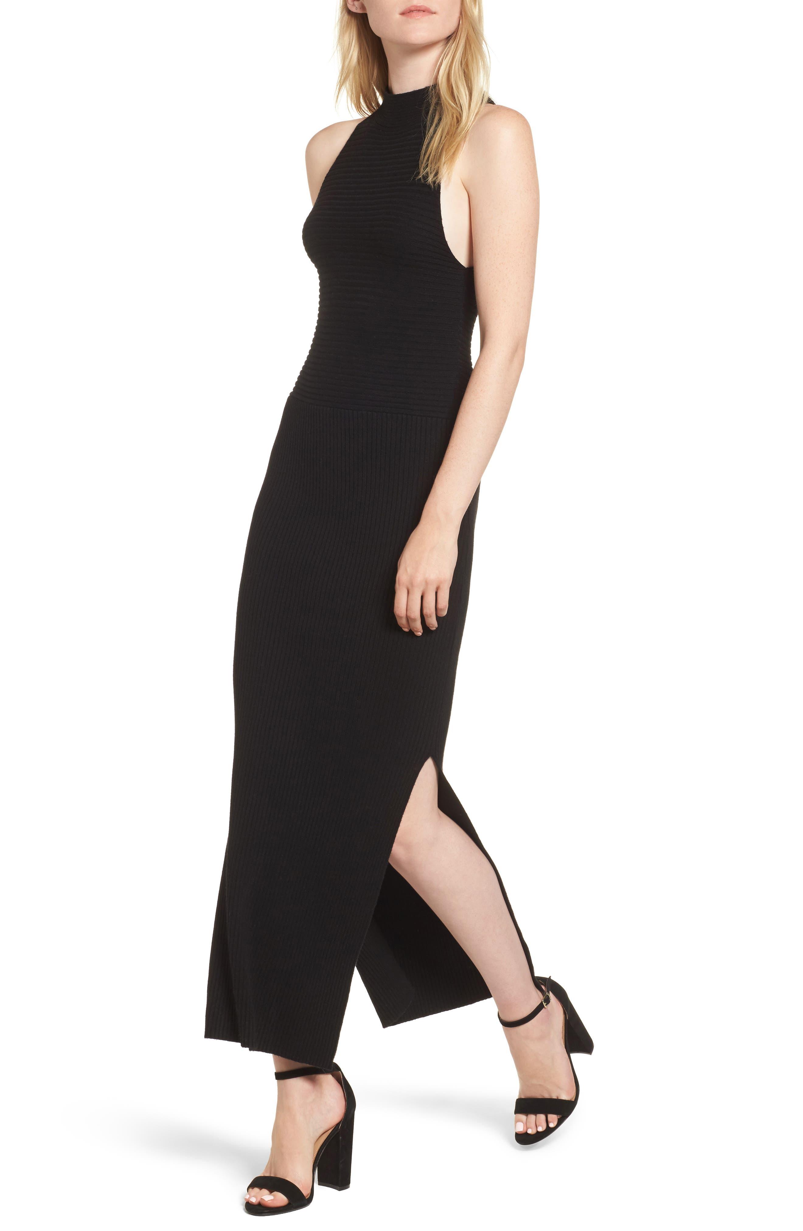 Jules Dress,                         Main,                         color, Black Cat