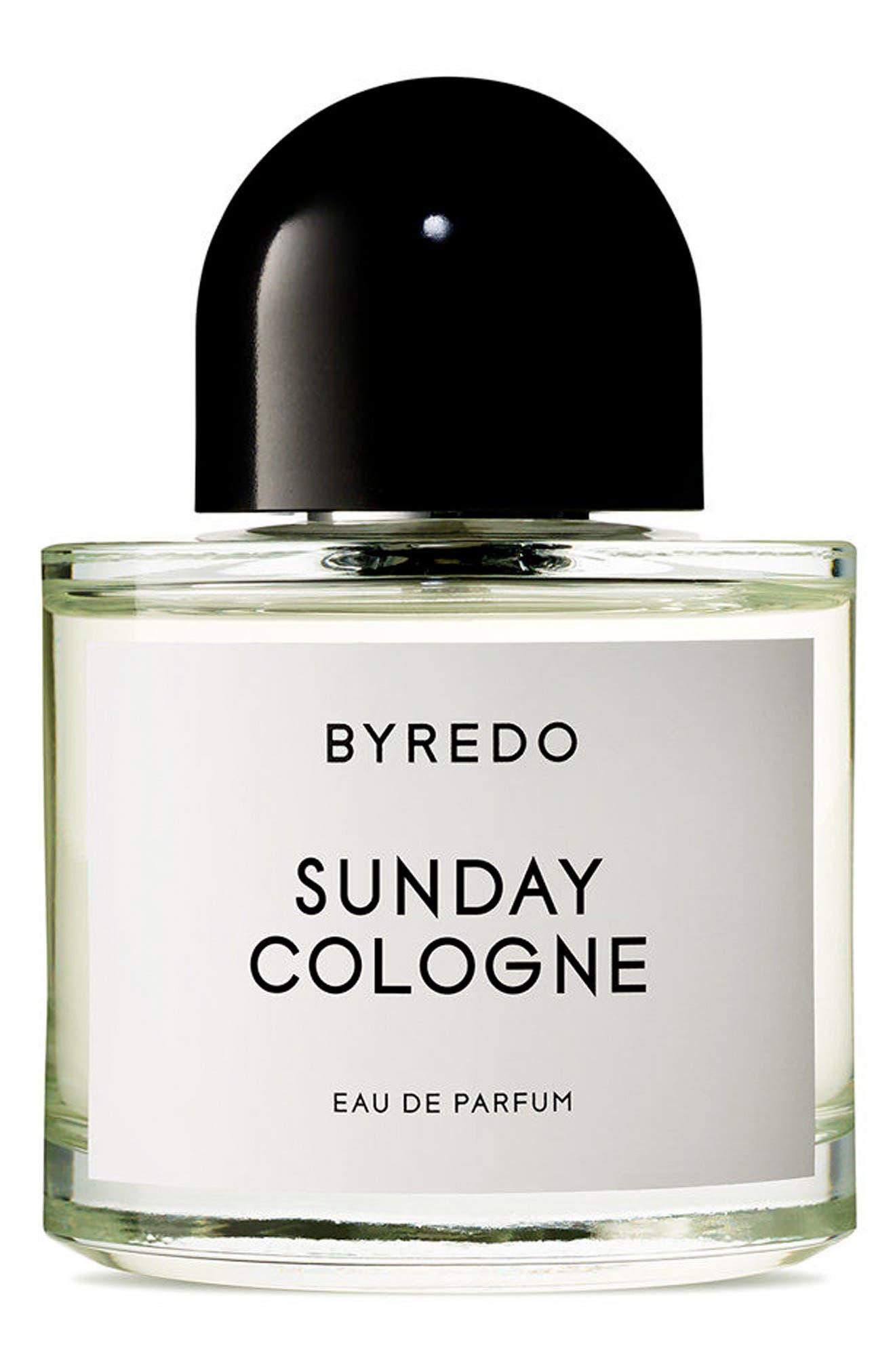 Sunday Cologne Eau de Parfum,                             Main thumbnail 1, color,                             No Color