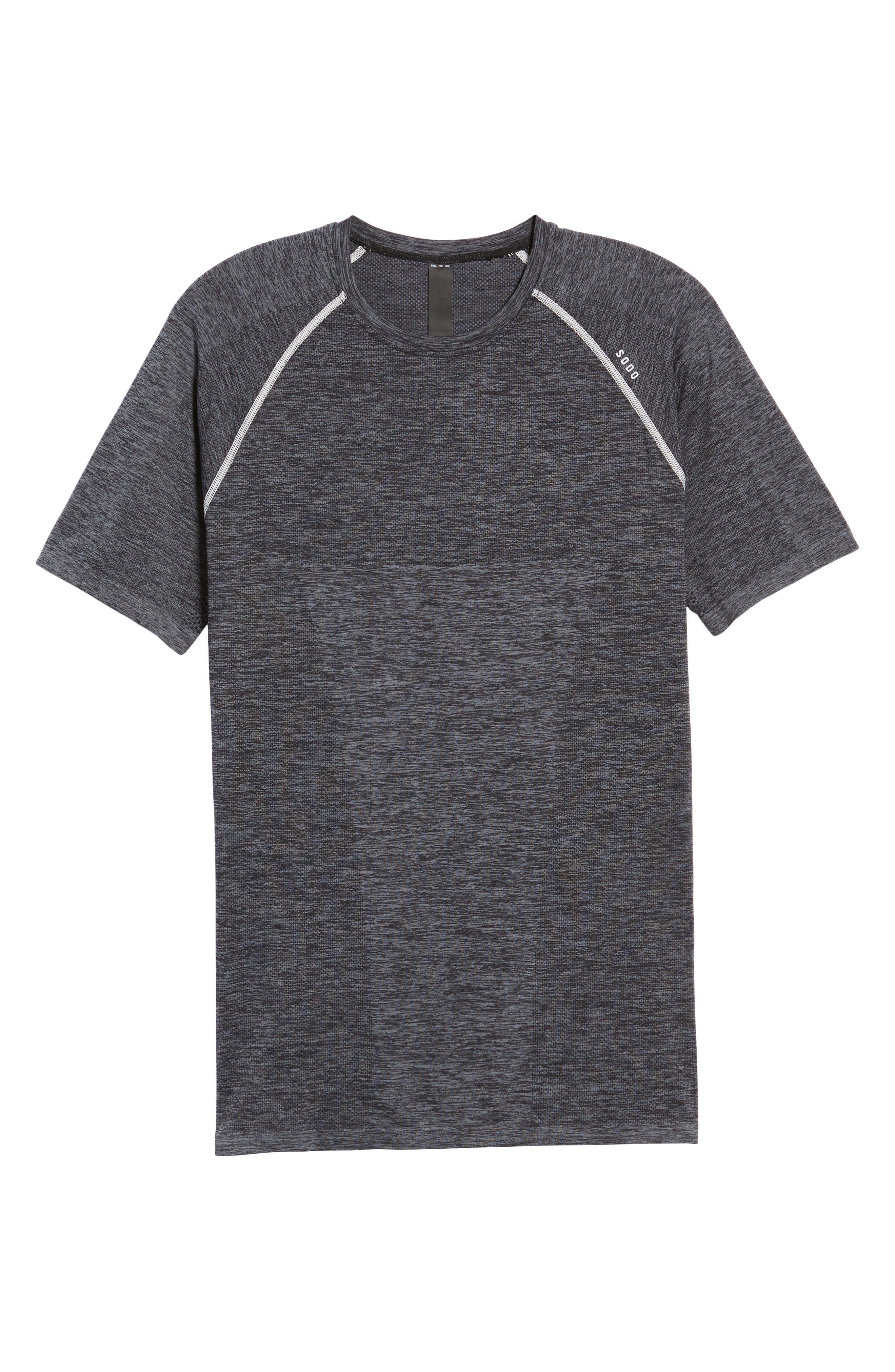 Alternate Image 6  - SODO Seamless Crewneck Performance T-Shirt