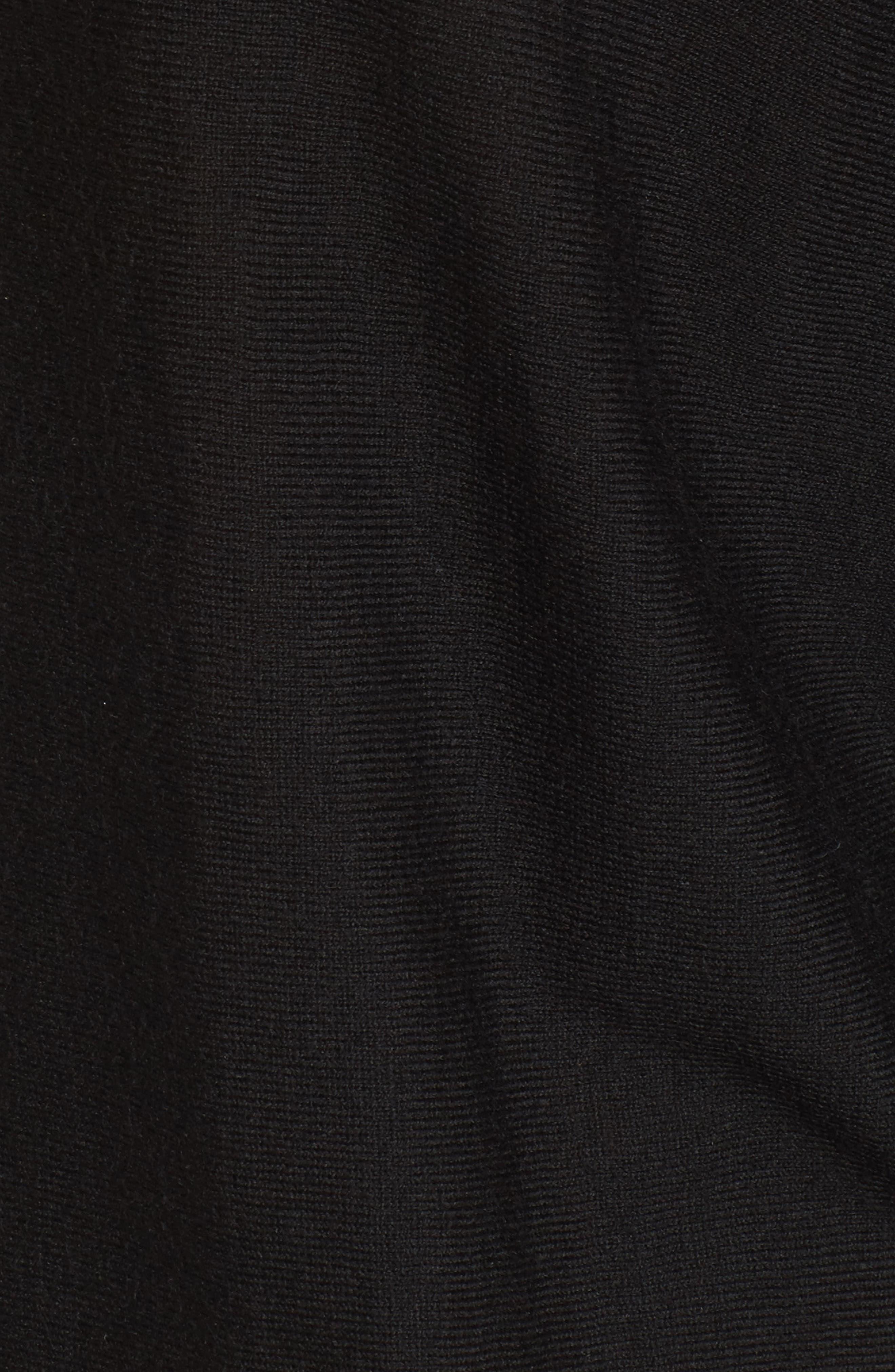 Whitlock Sweater,                             Alternate thumbnail 5, color,                             Black
