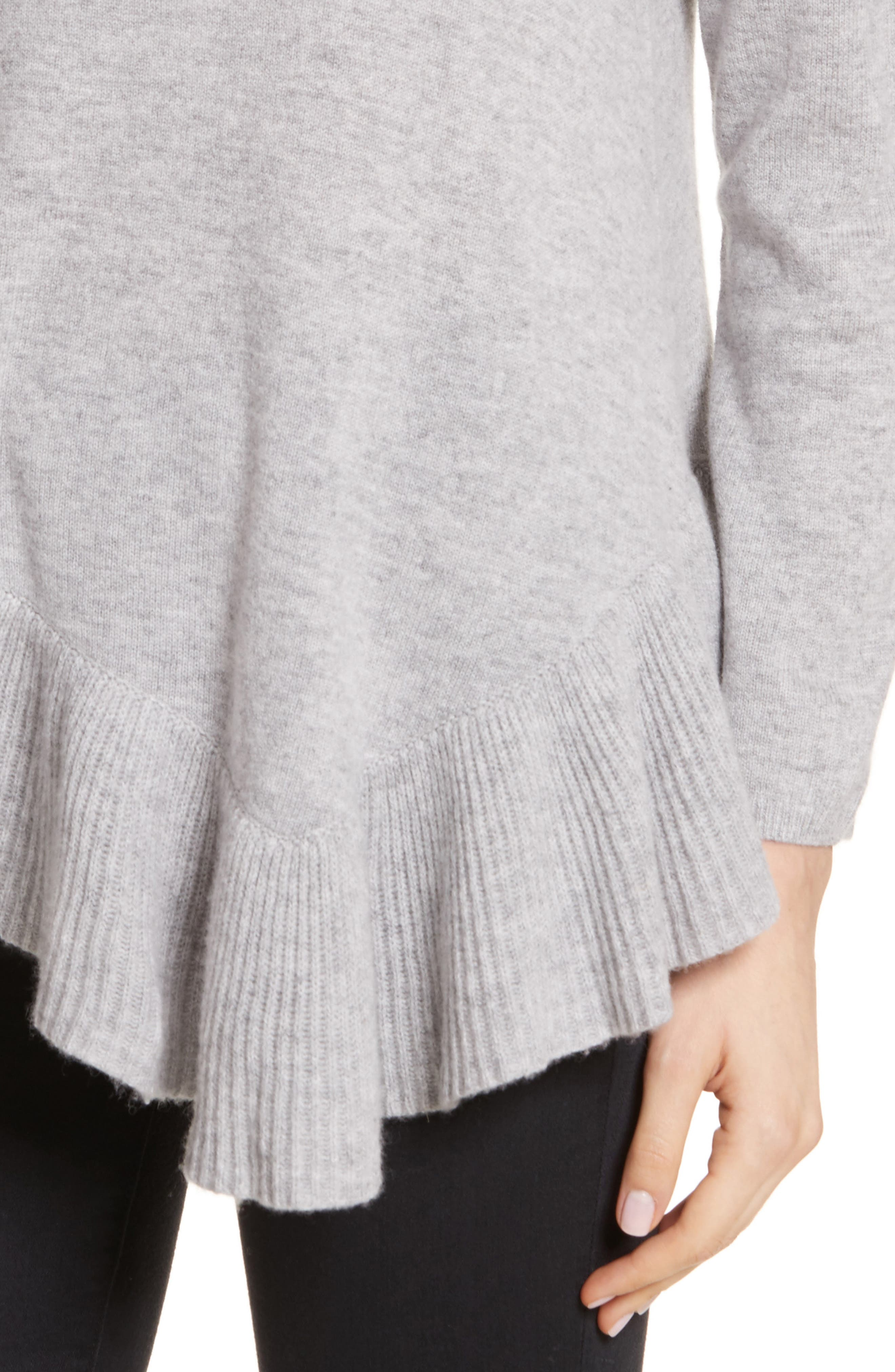 Alternate Image 4  - Joie Tambrel N Wool & Cashmere Asymmetrical Sweater Tunic