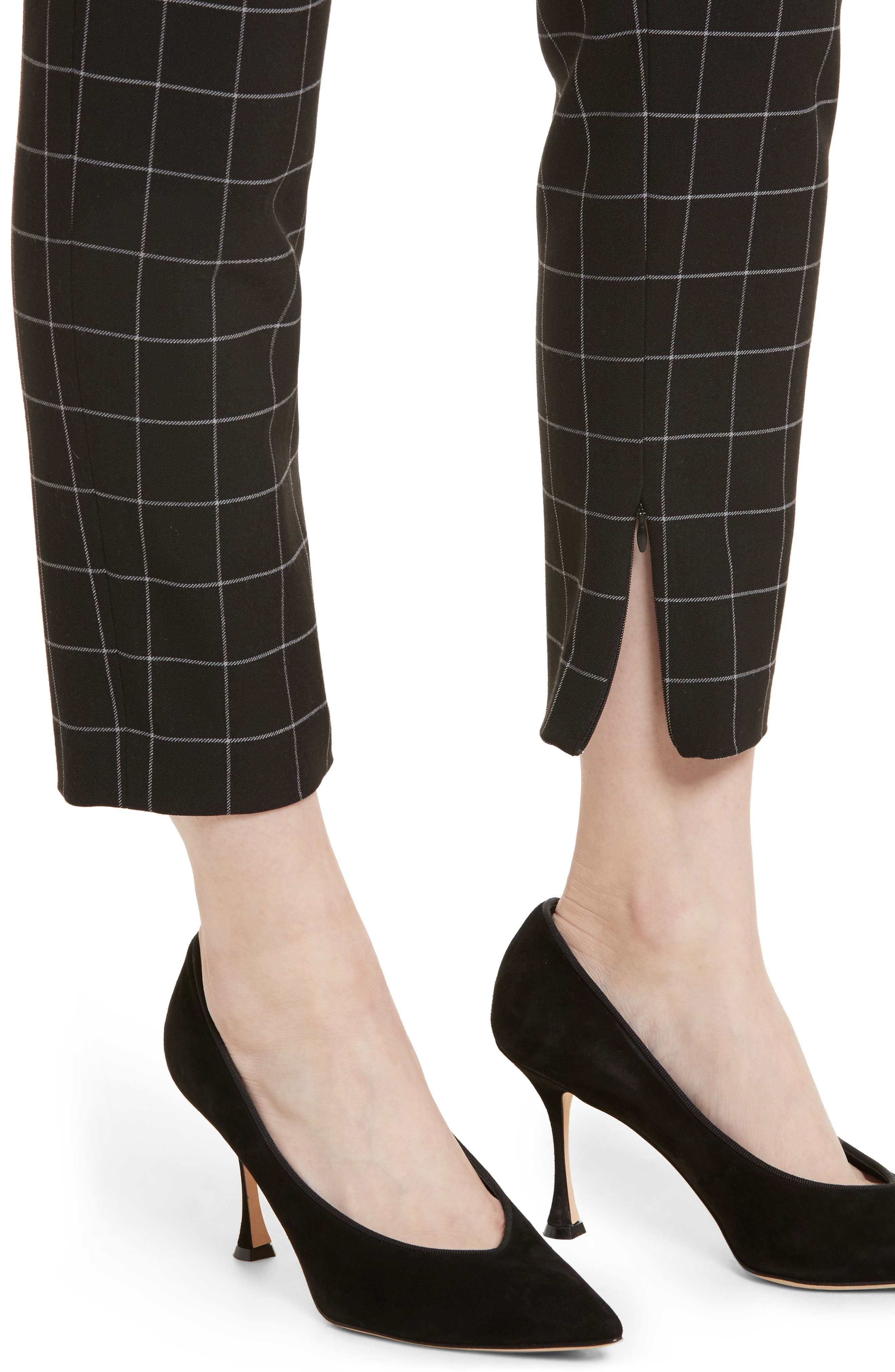 Alternate Image 4  - Alice + Olivia Stacey Slim Ankle Pants