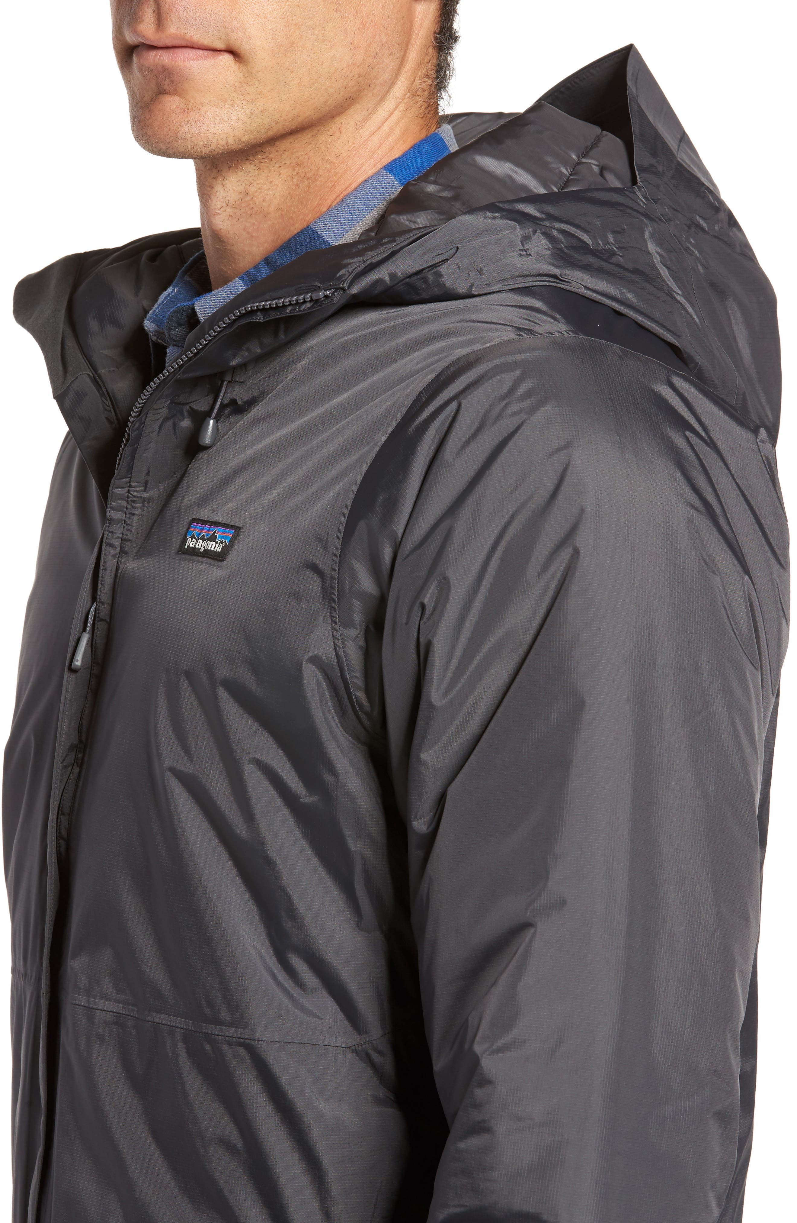 Torrentshell H2No<sup>®</sup> Packable Insulated Rain Jacket,                             Alternate thumbnail 4, color,                             Forge Grey