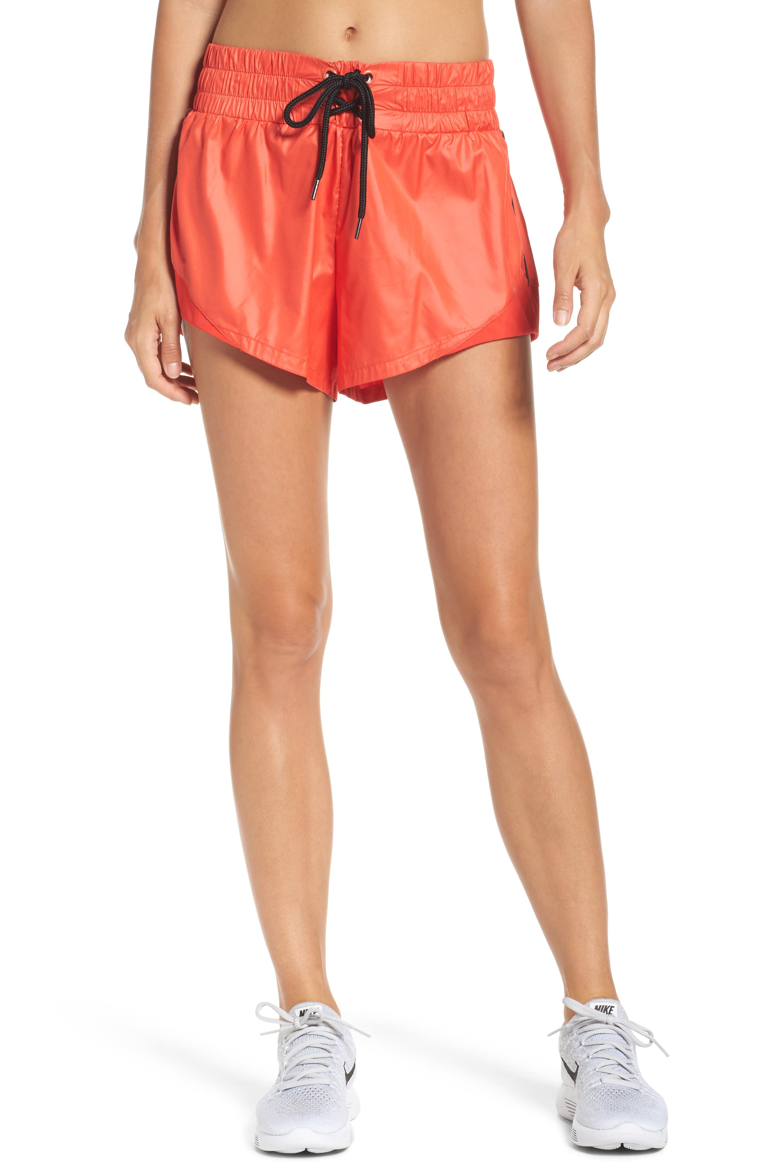 Boxer Babe Shorts,                         Main,                         color, Red Fiery