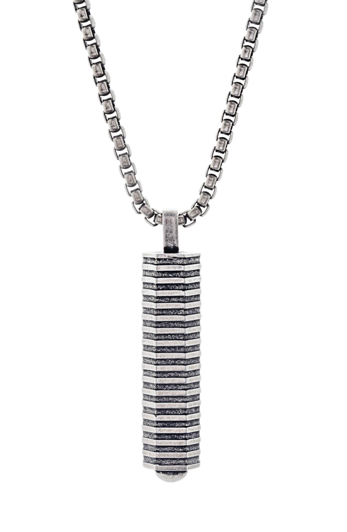 Alternate Image 1 Selected - Ben Sherman Geo Pendant Necklace