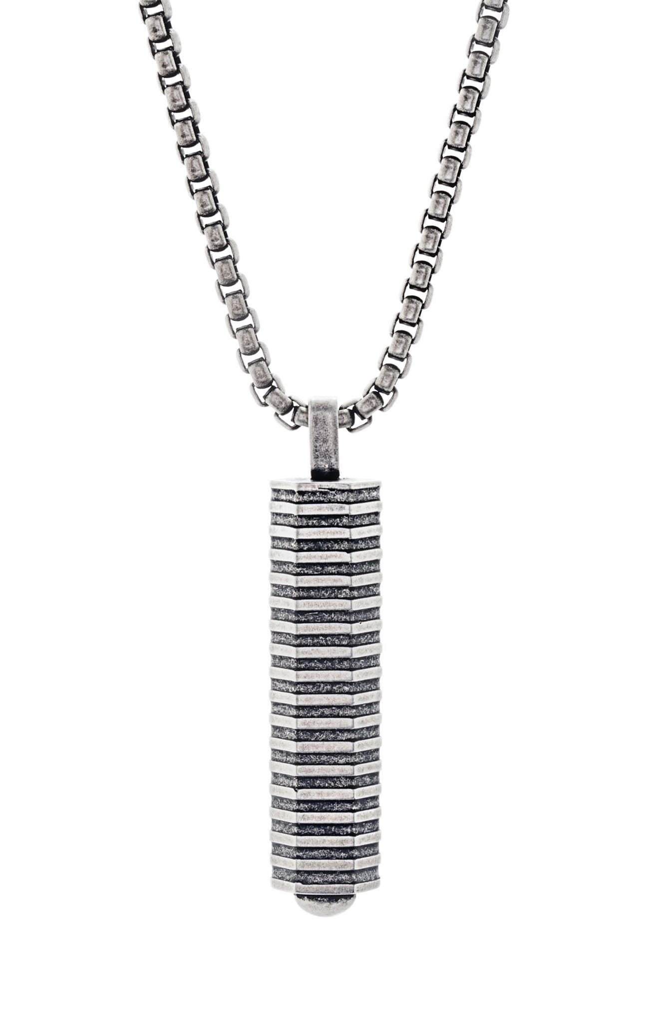 Main Image - Ben Sherman Geo Pendant Necklace