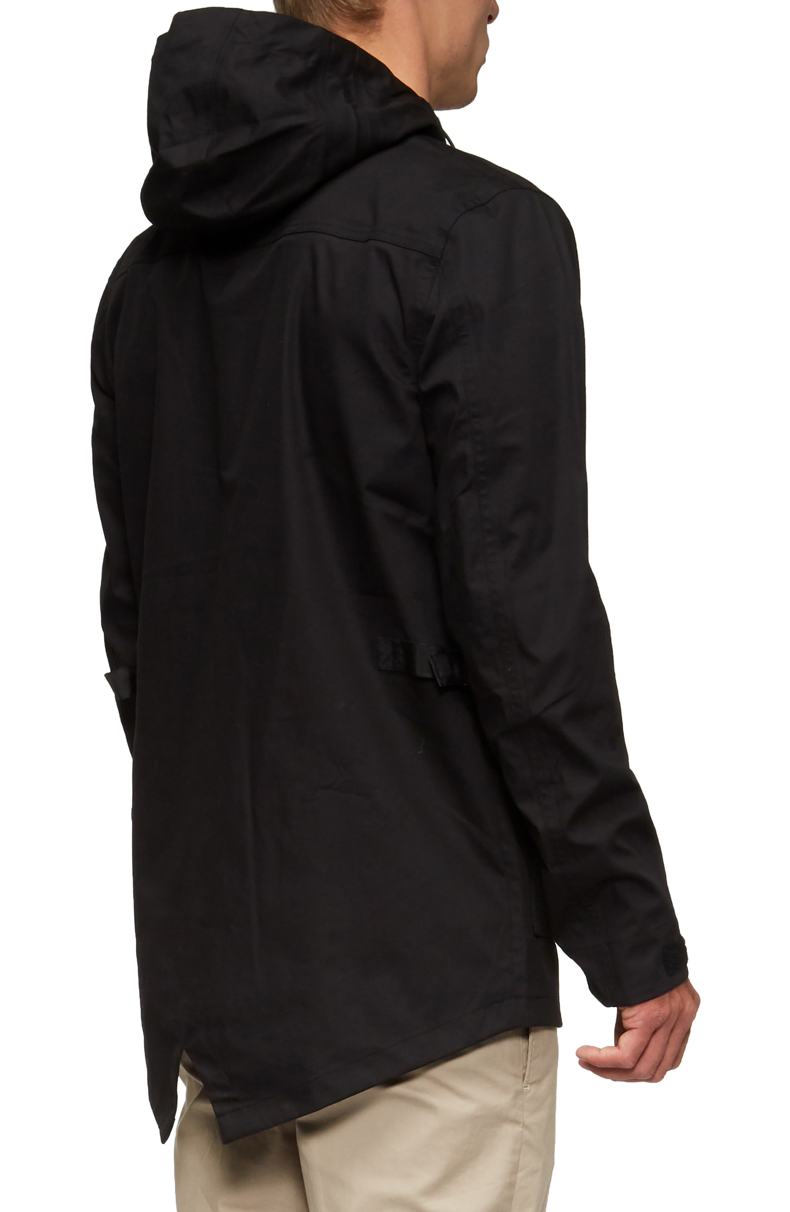 Ridley Parka,                             Alternate thumbnail 2, color,                             Black
