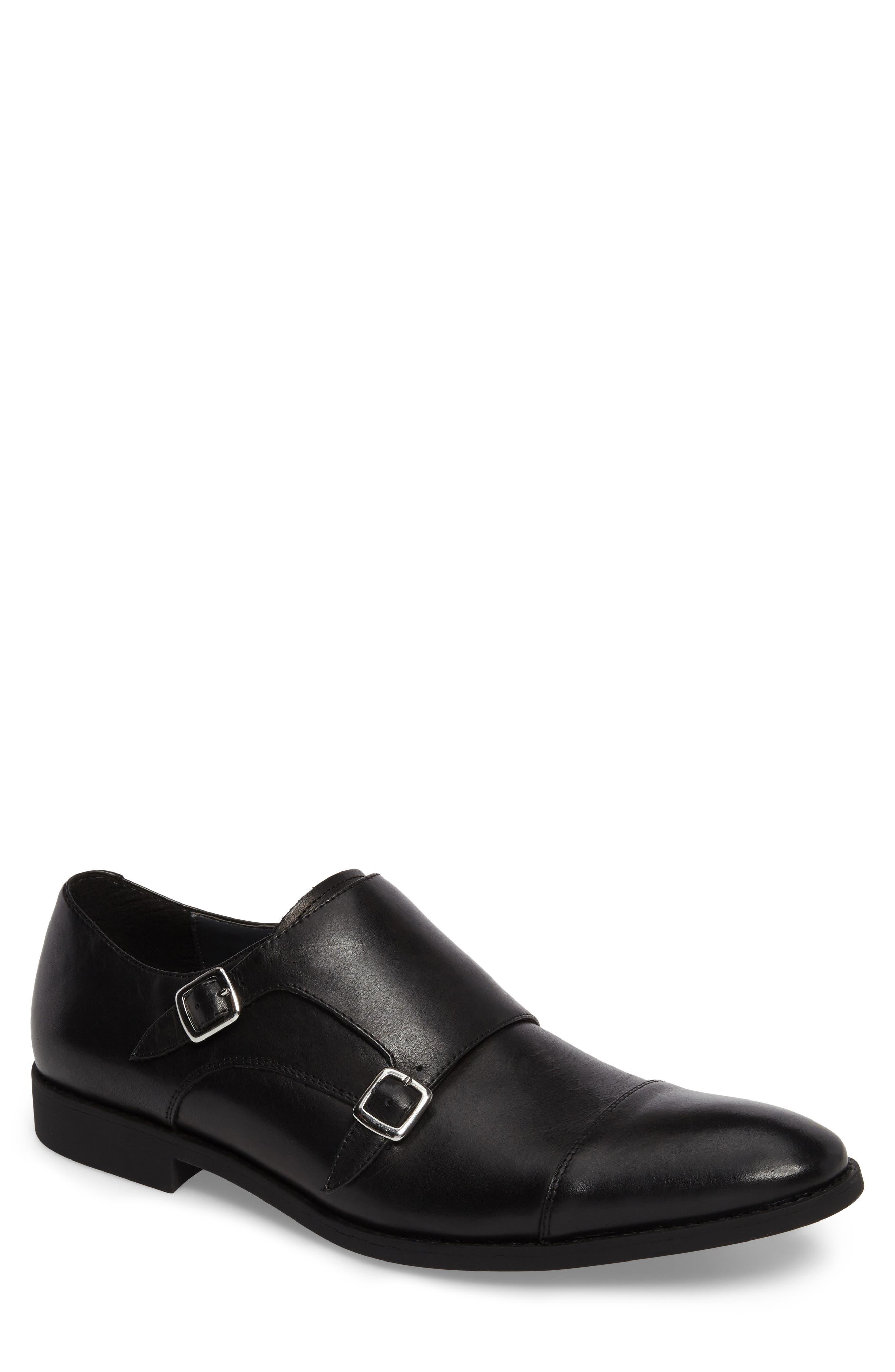 The Rail Torance Double Monk Strap Shoe (Men)