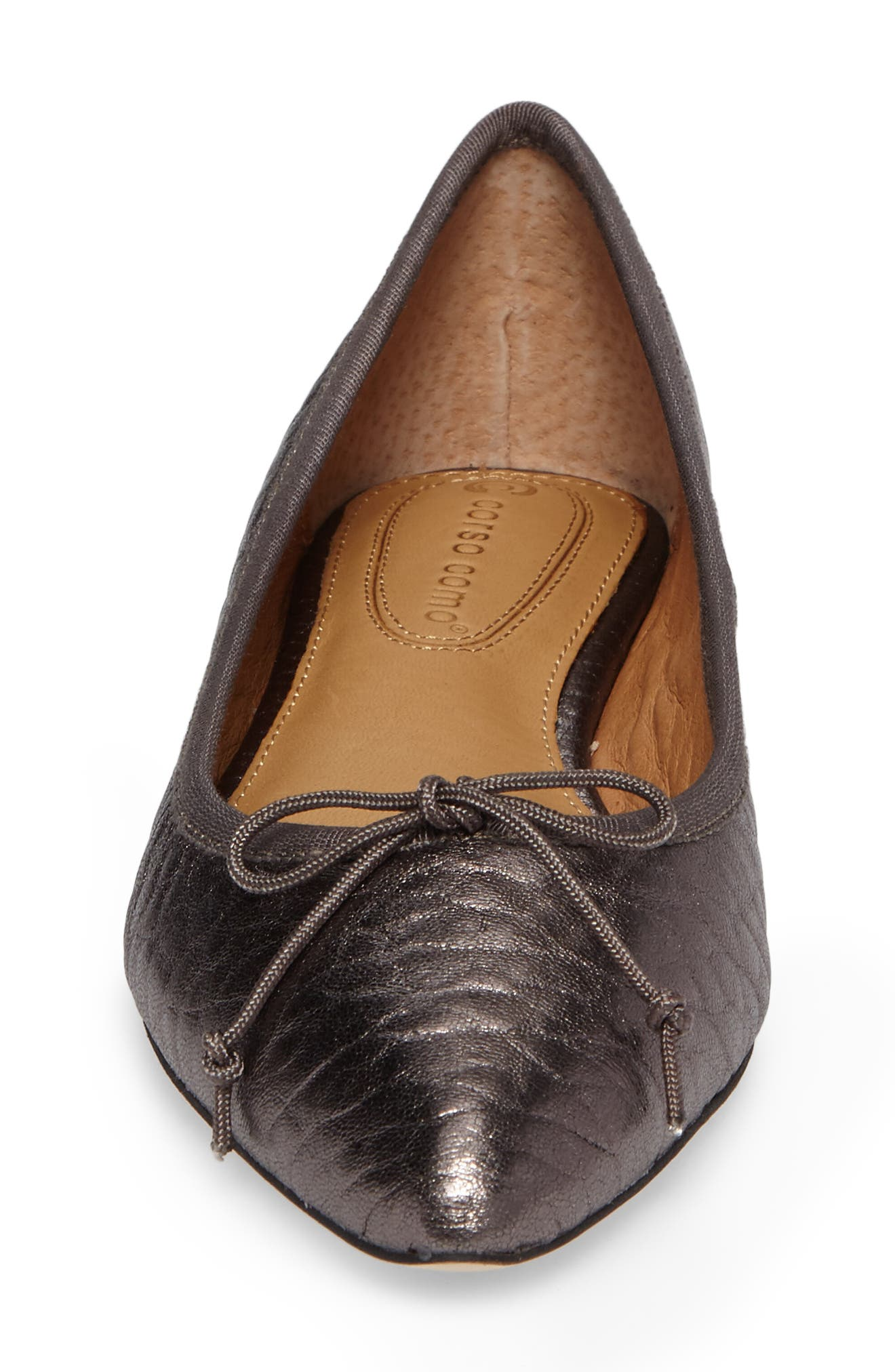Alternate Image 4  - Corso Como 'Recital' Pointy Toe Flat (Women)