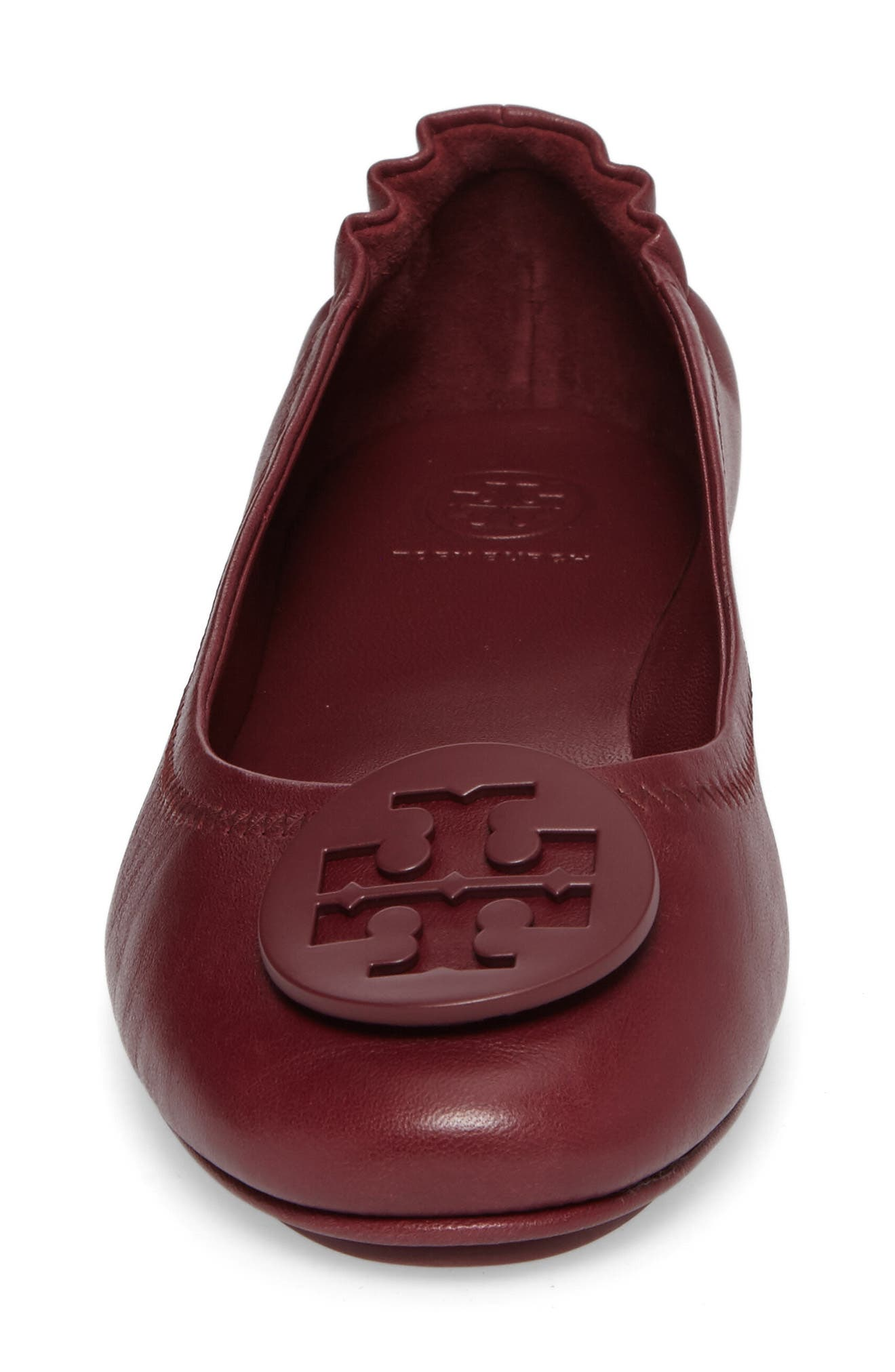 Alternate Image 4  - Tory Burch 'Minnie' Travel Ballet Flat (Women)