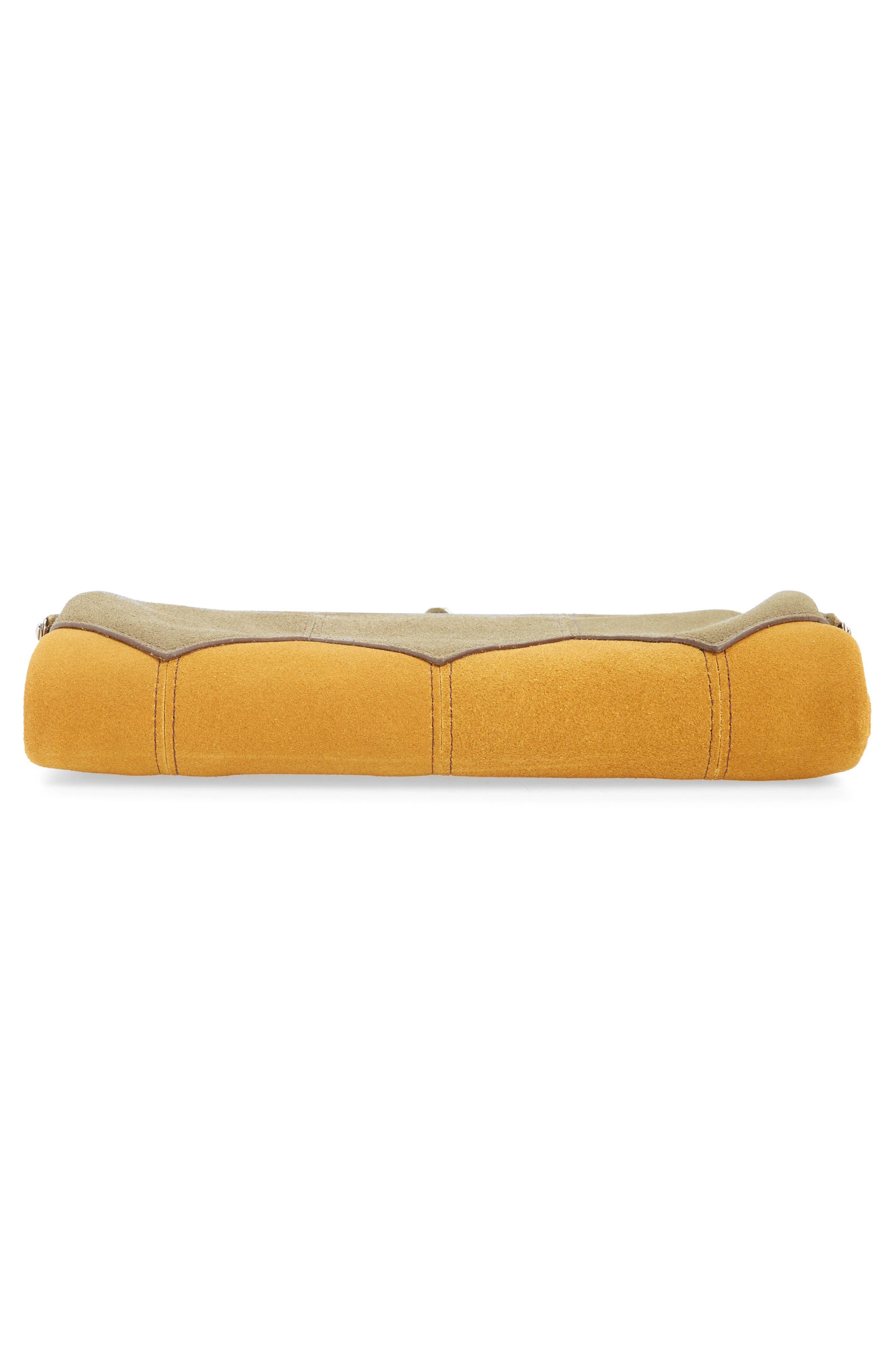 Alternate Image 5  - Hobo Lauren Colorblock Calfskin Leather Wallet