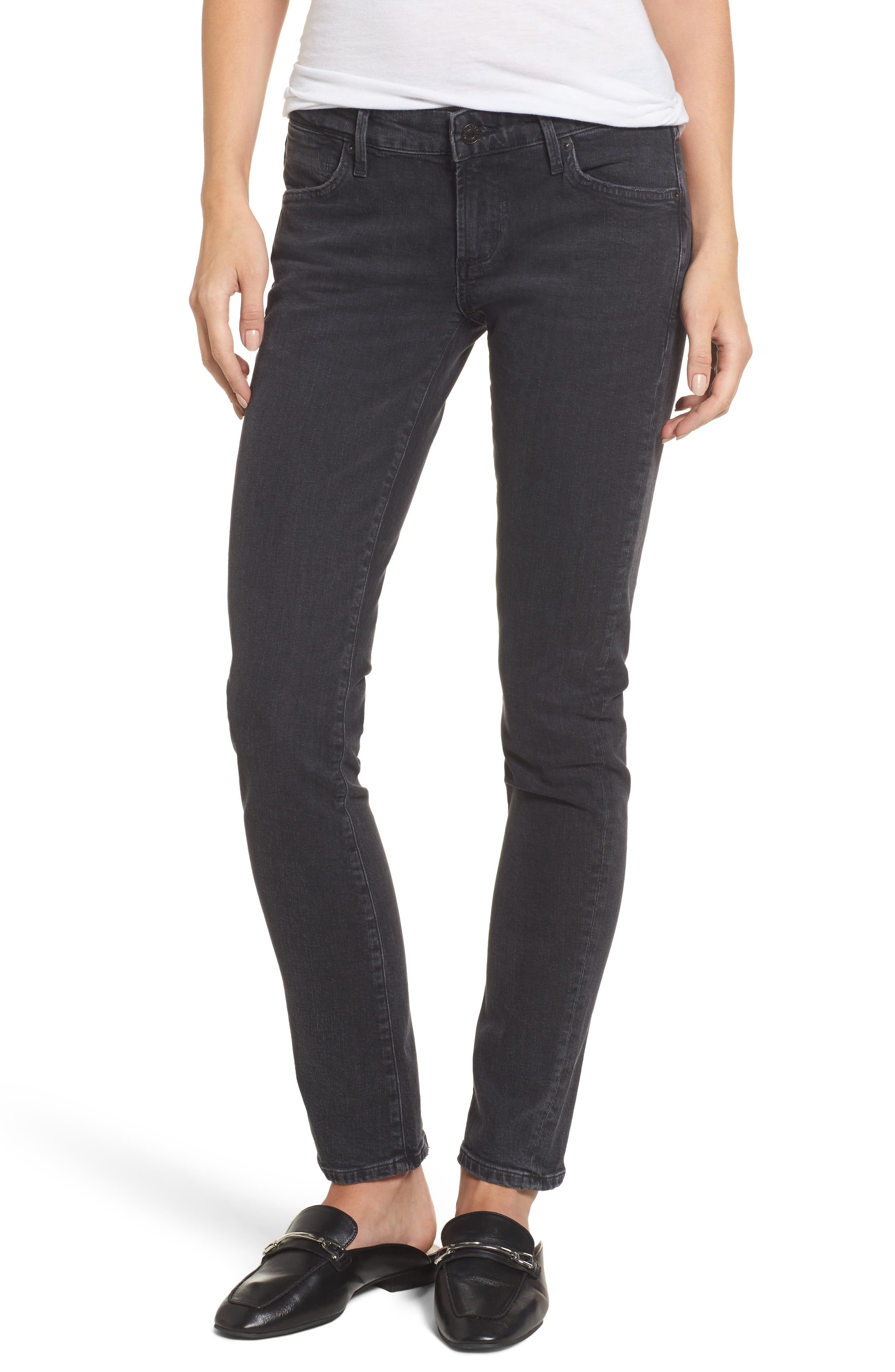 Chloe Low Rise Slim Jeans,                             Main thumbnail 1, color,                             Chelsea