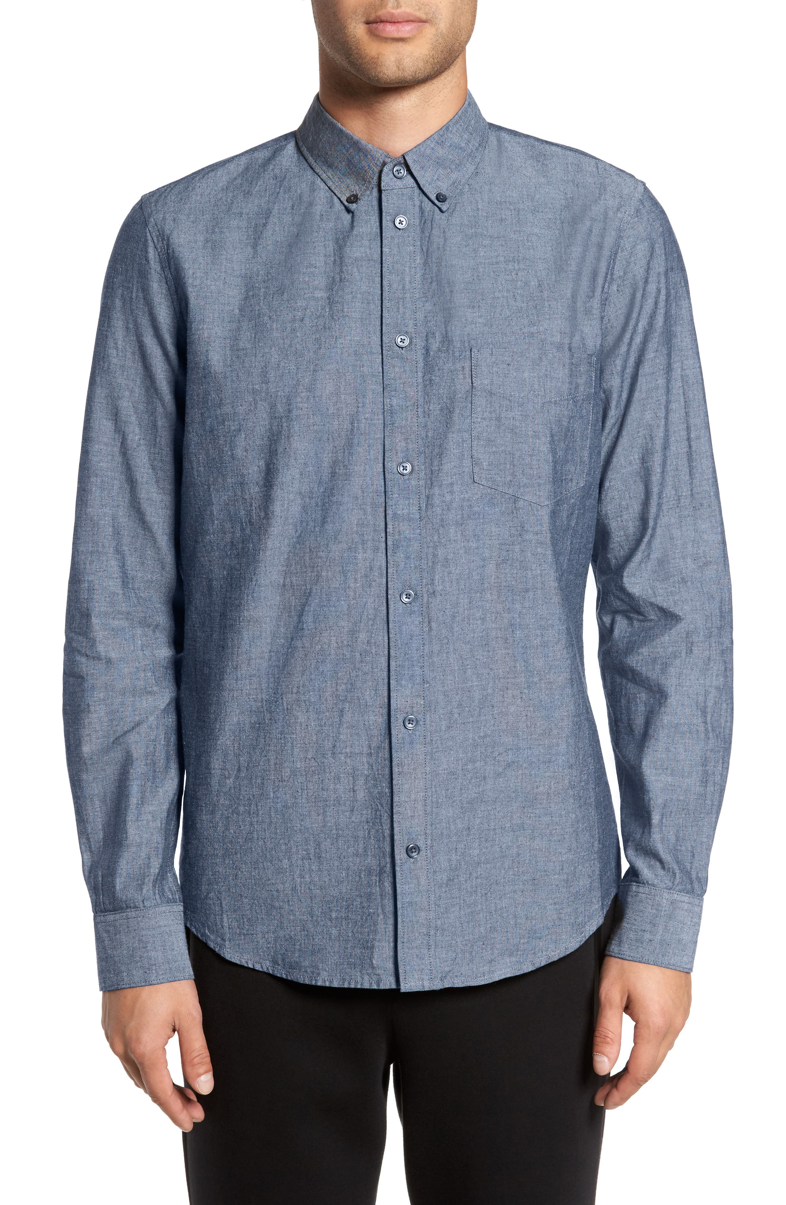 Alternate Image 1 Selected - Everlane The Slim Fit Chambray Shirt