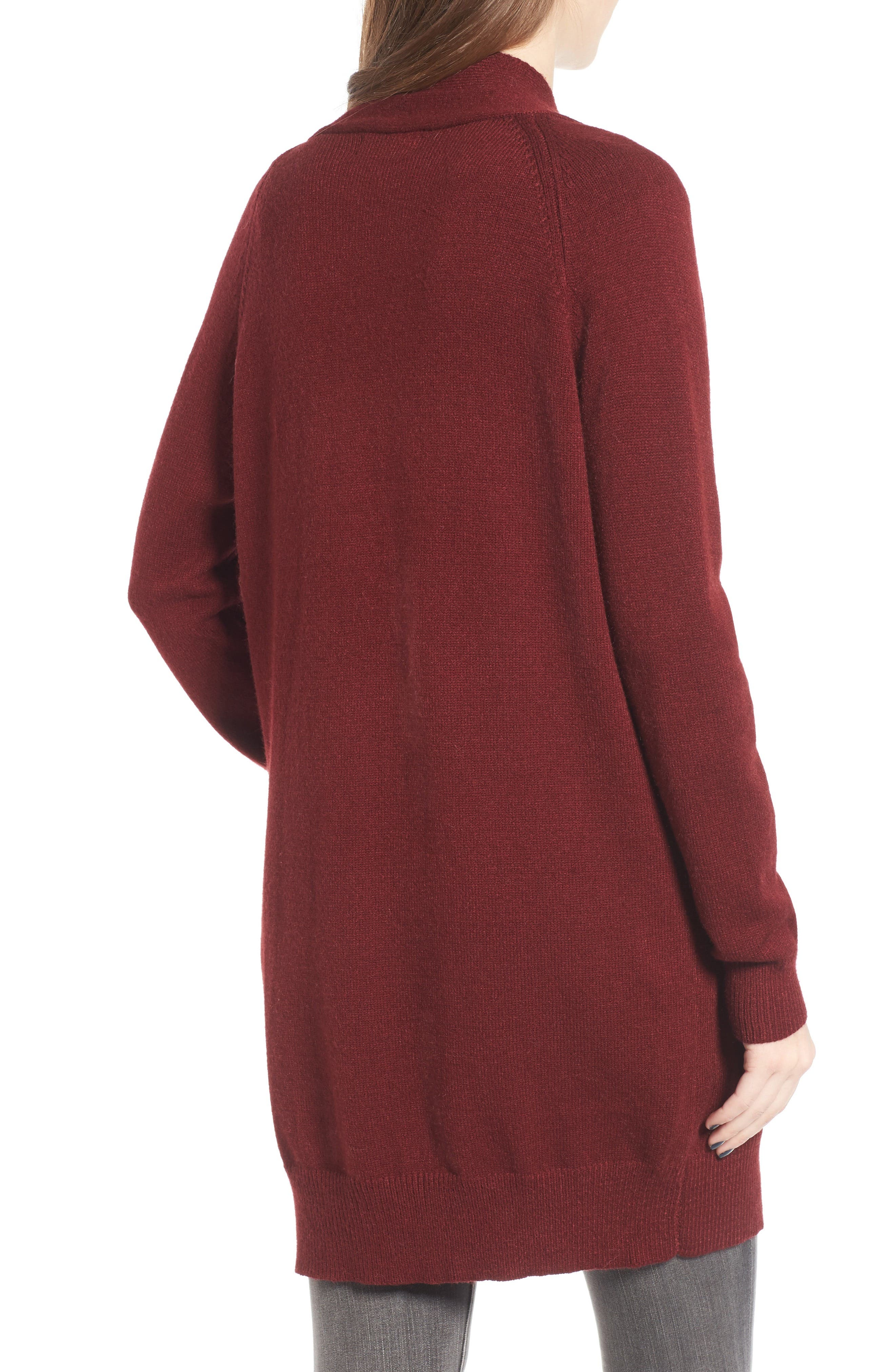 Alternate Image 2  - Dreamers by Debut Cozy Open Cardigan