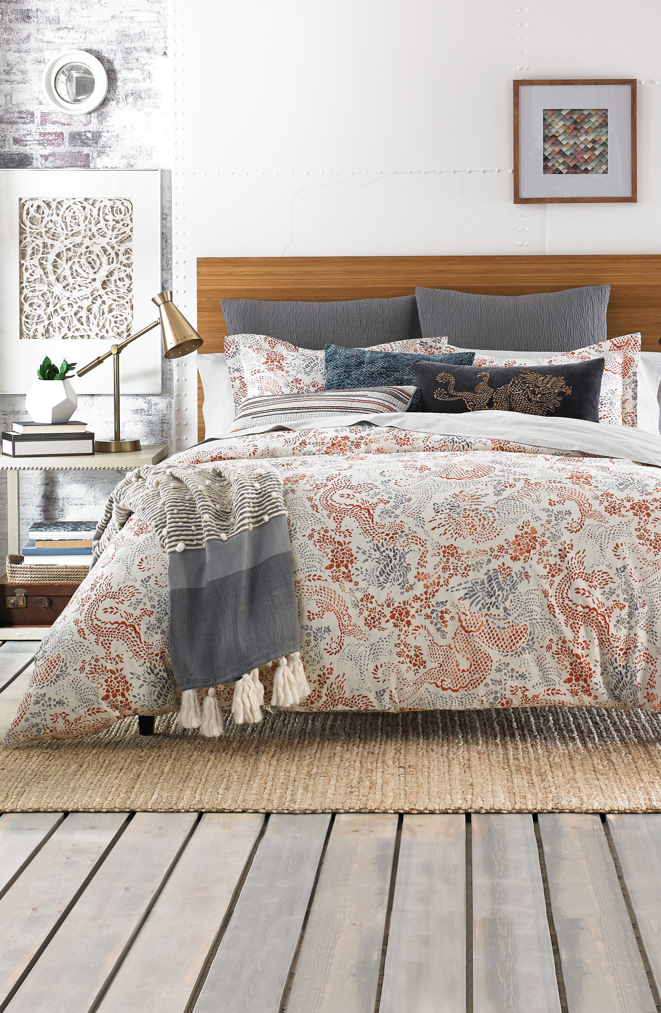 Jakarta Accent Pillow,                             Alternate thumbnail 2, color,                             Grey
