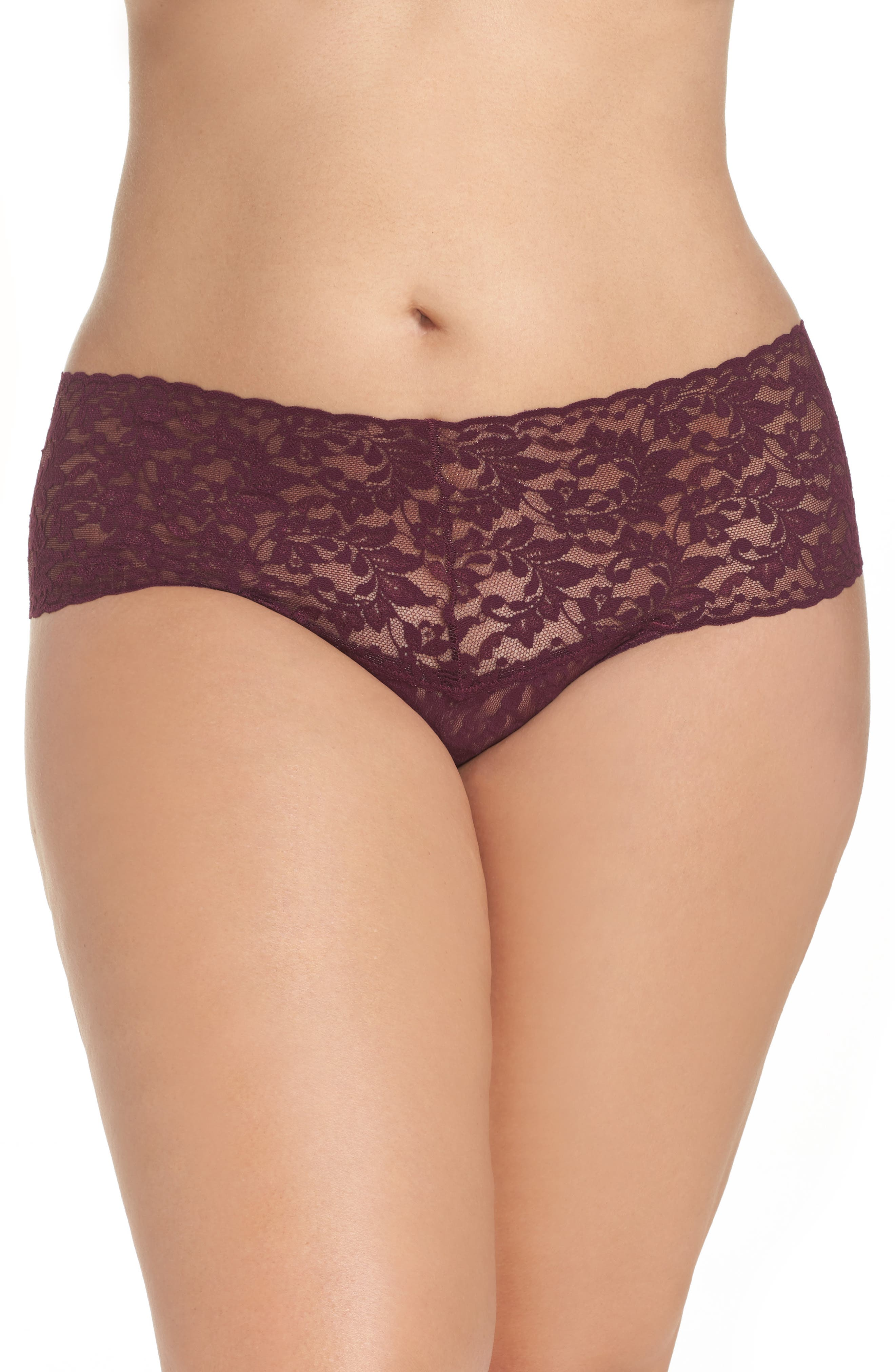 Alternate Image 1 Selected - Hanky Panky 'Retro' Thong (Plus Size)