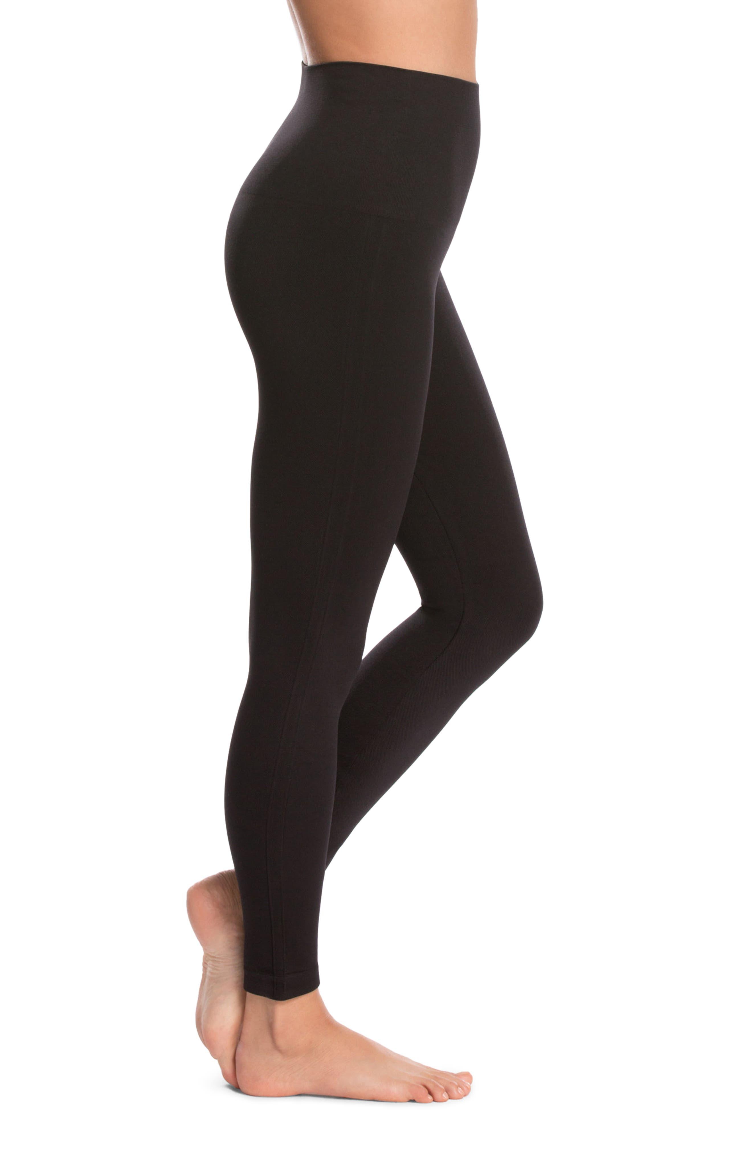 Alternate Image 3  - SPANX® Look at Me Now' Seamless Leggings