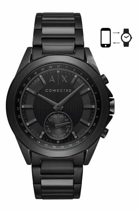3073ac4f4e2 AX Armani Exchange Connected Bracelet Hybrid Smartwatch