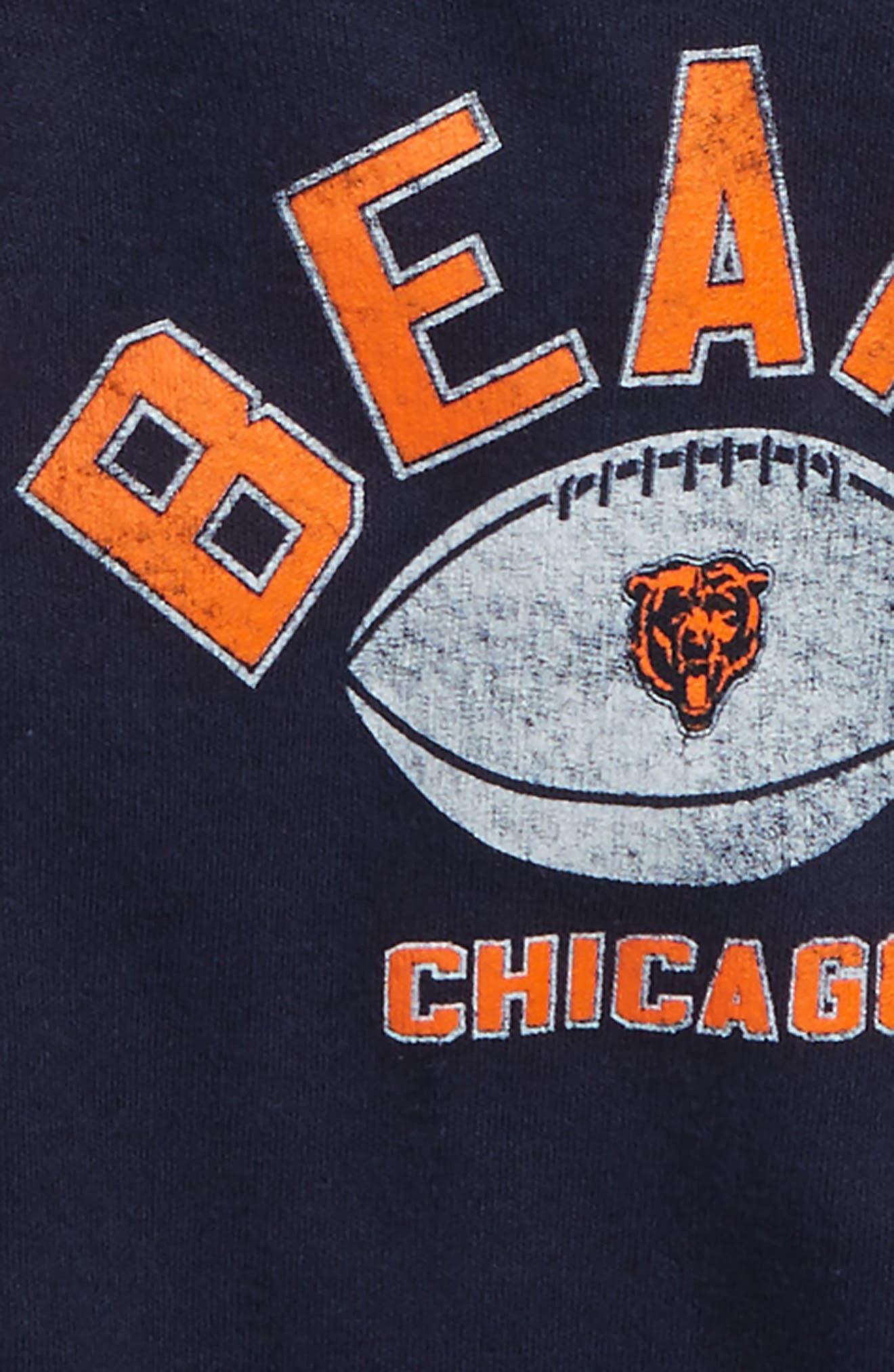 NFL Logo Chicago Bears 2-Pack Bodysuits,                             Alternate thumbnail 2, color,                             Bears