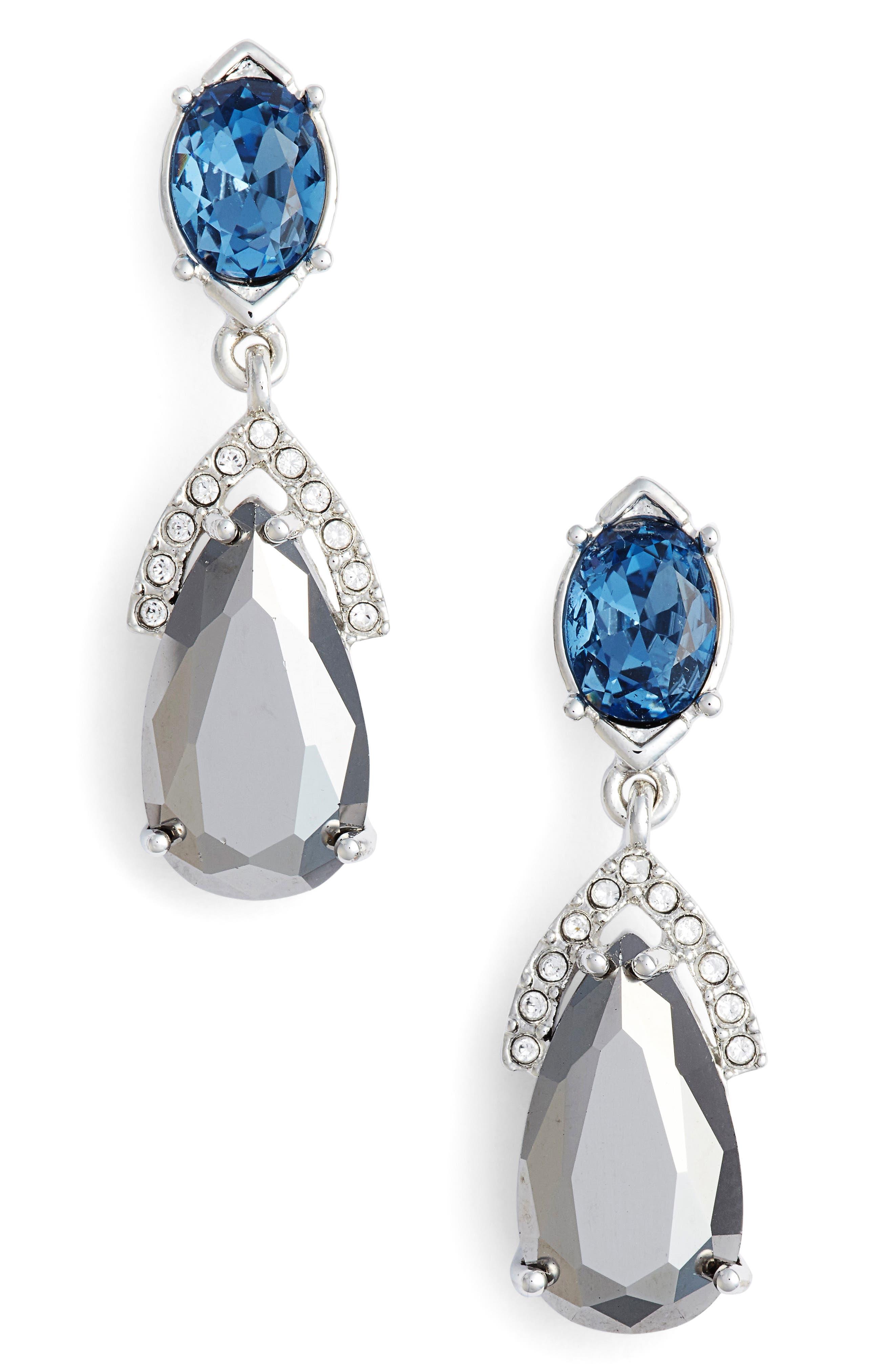 Jenny Packham Double Drop Earrings