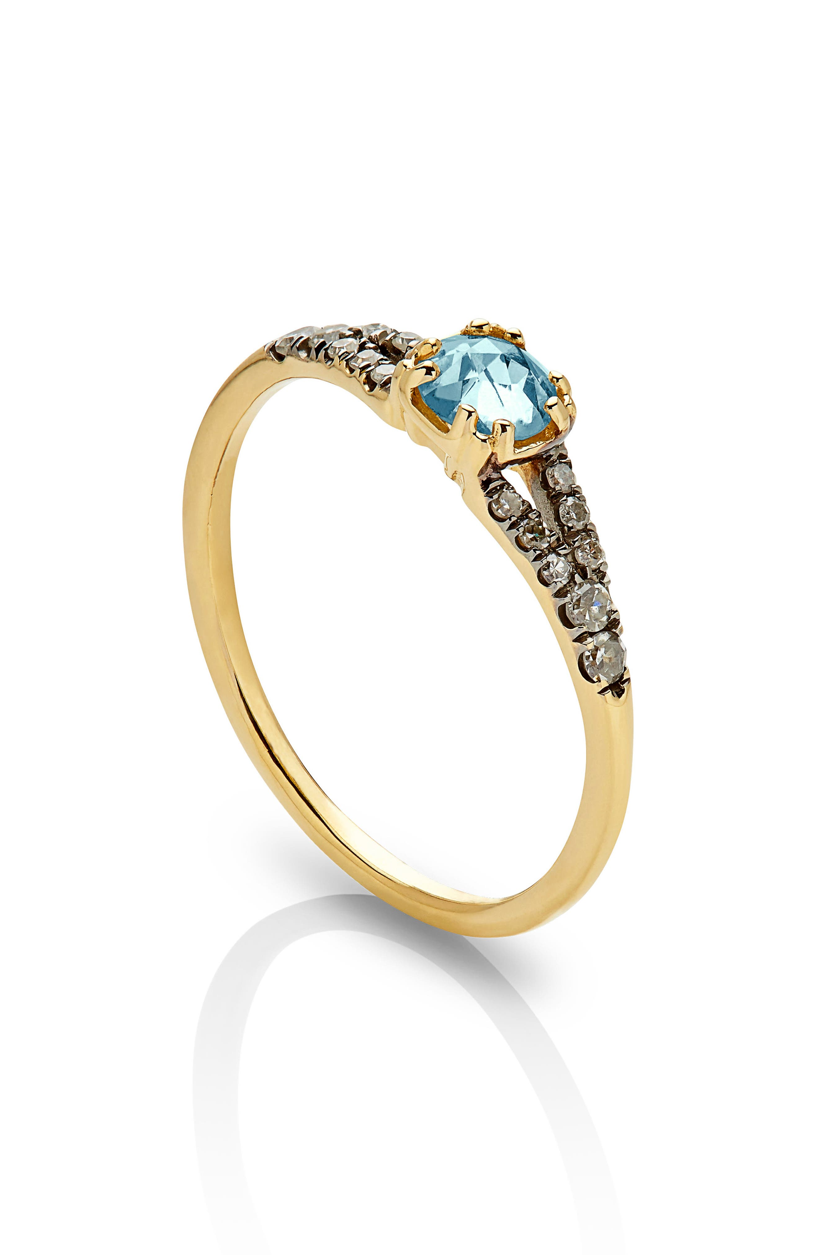 Alternate Image 2  - Maniamania Devotion Solitaire Diamond Ring
