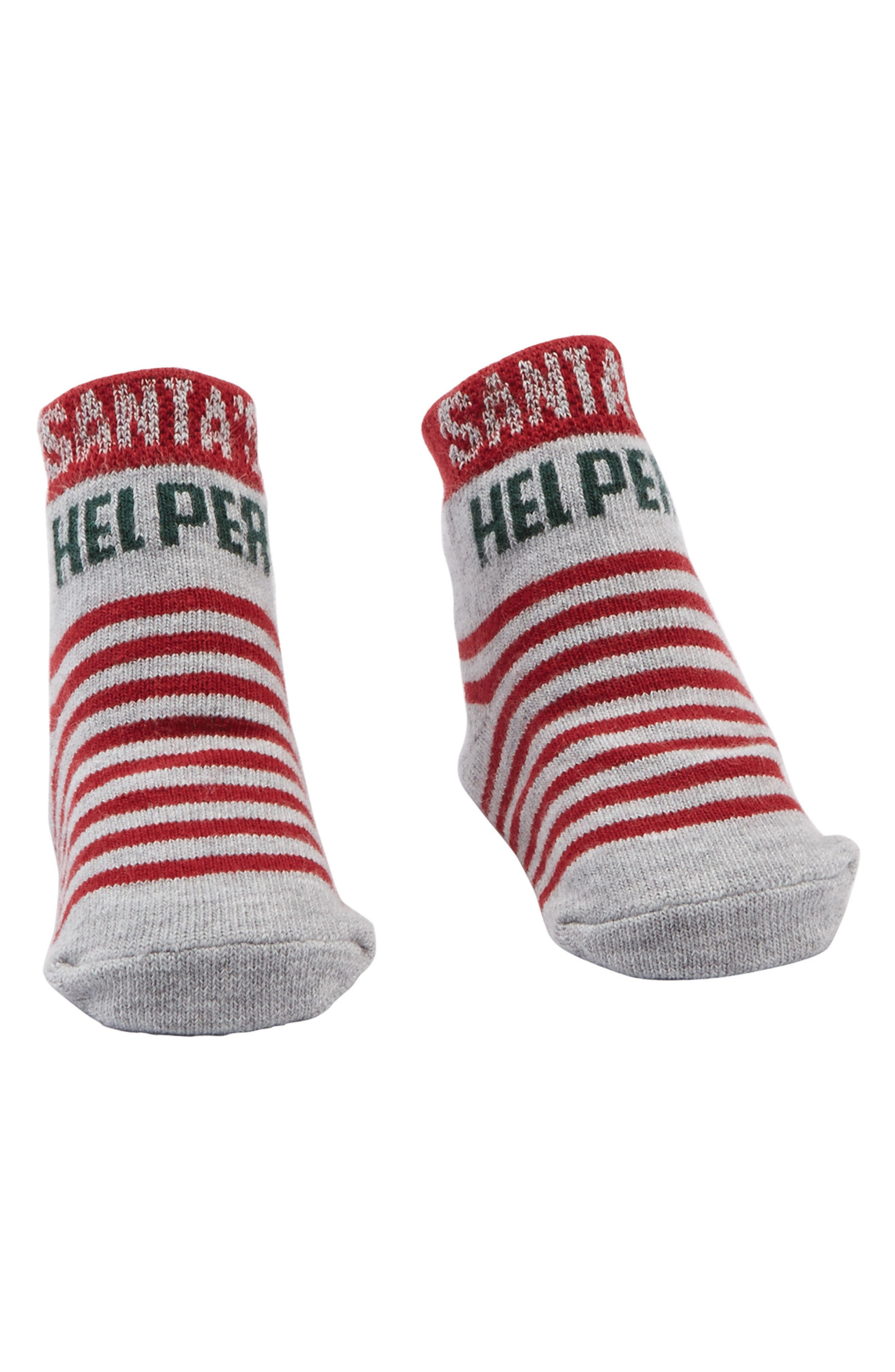 Mud Pie Santa's Helper Socks