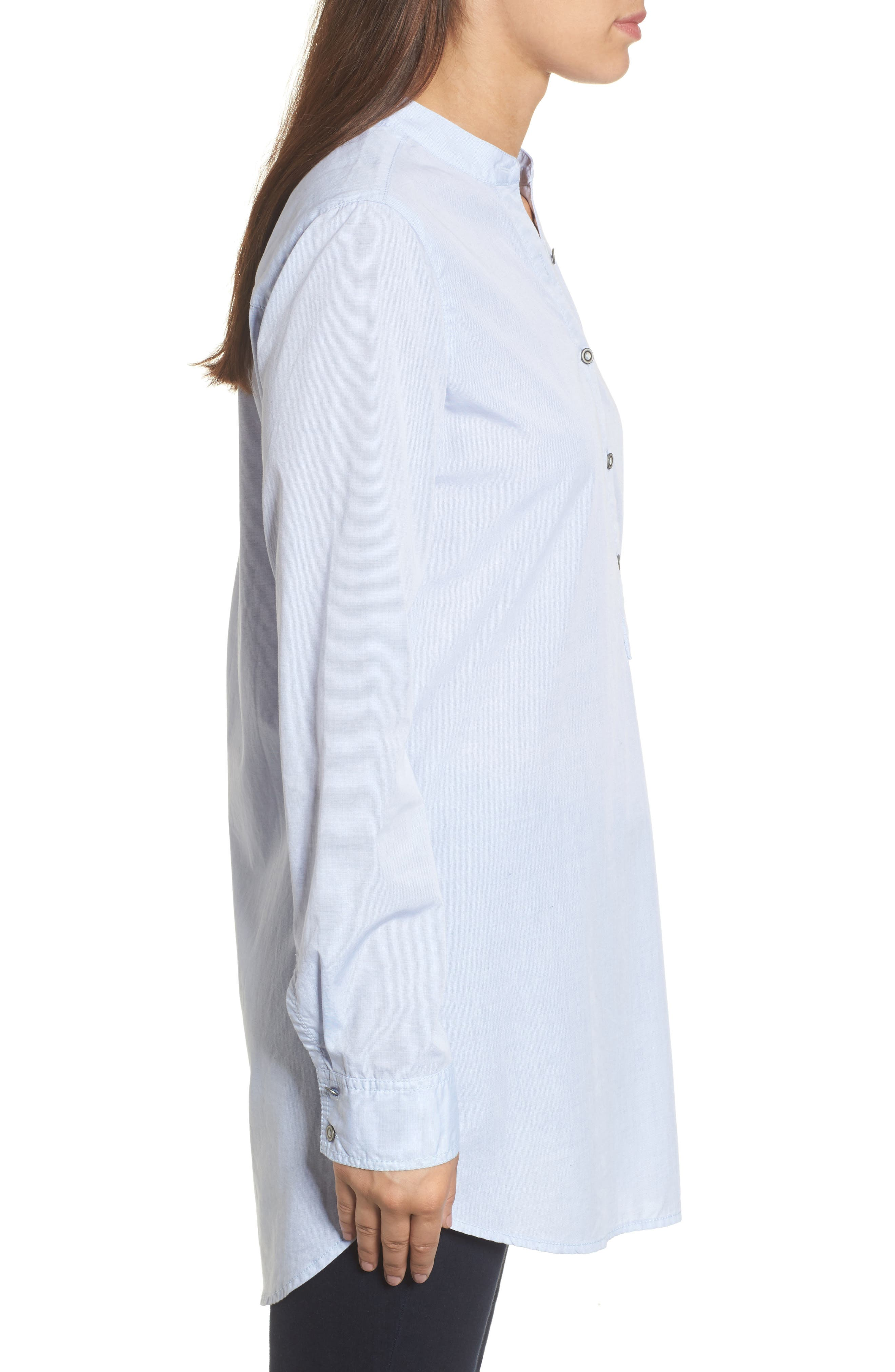 Alternate Image 3  - Caslon® Popover Tunic Shirt (Regular & Petite)