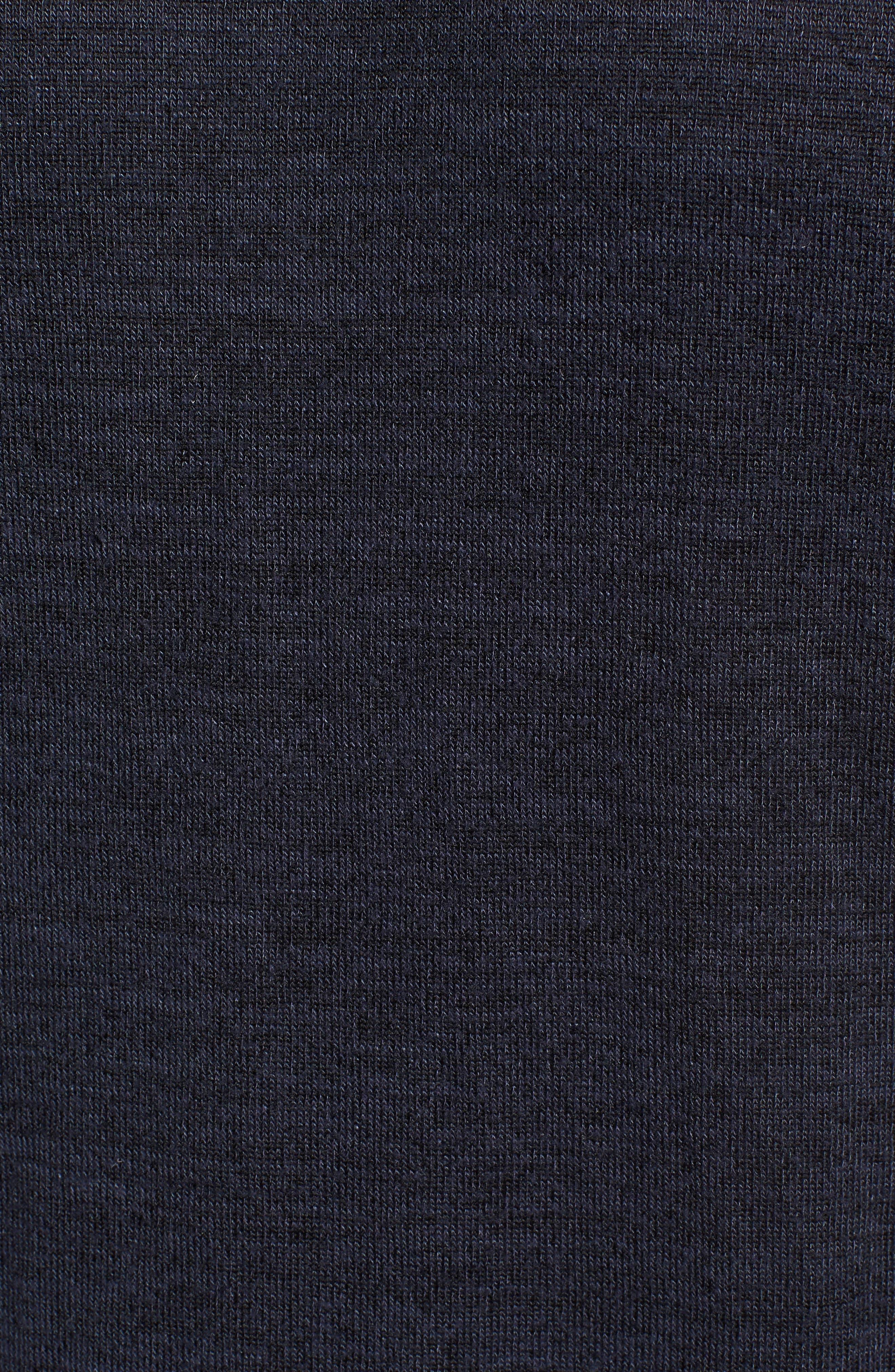 Modern Trim Marled Long Sleeve T-Shirt,                             Alternate thumbnail 5, color,                             Patrol