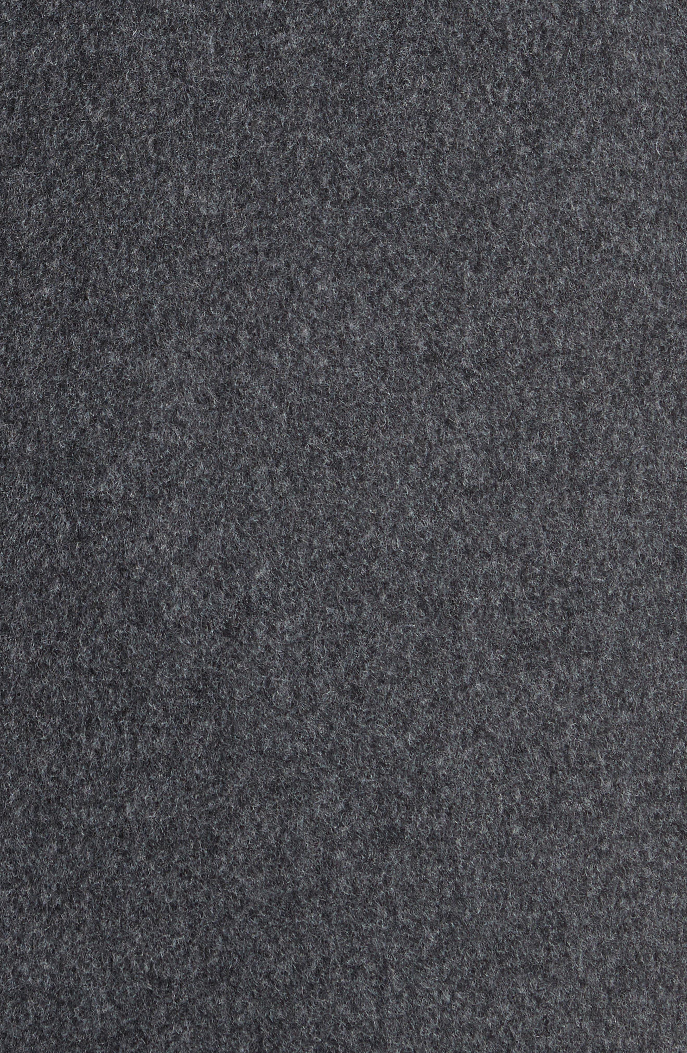 Alternate Image 5  - Comme des Garçons Long Hooded Wool Blend Coat