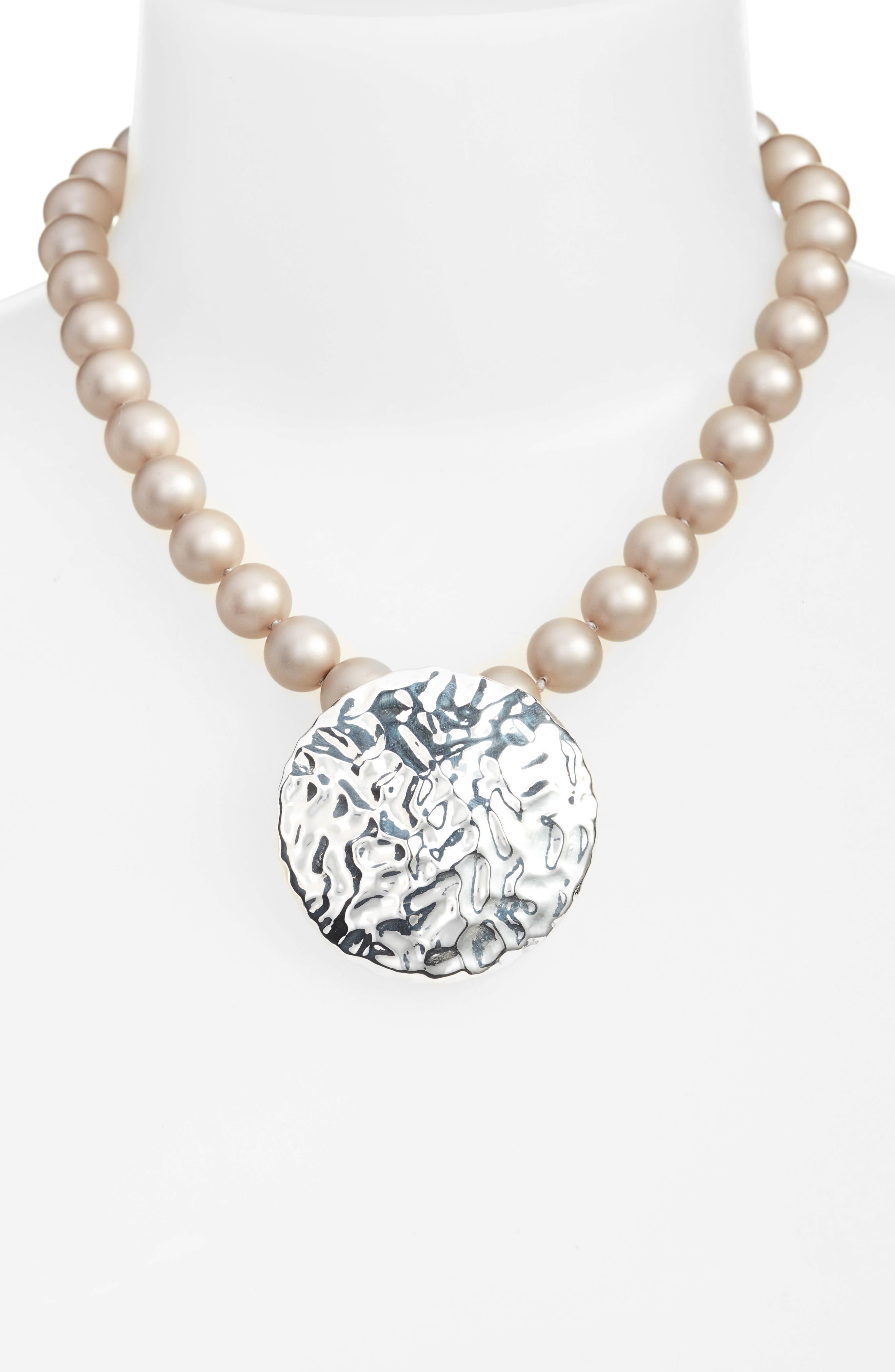 Alternate Image 1 Selected - Simon Sebbag Pendant Necklace
