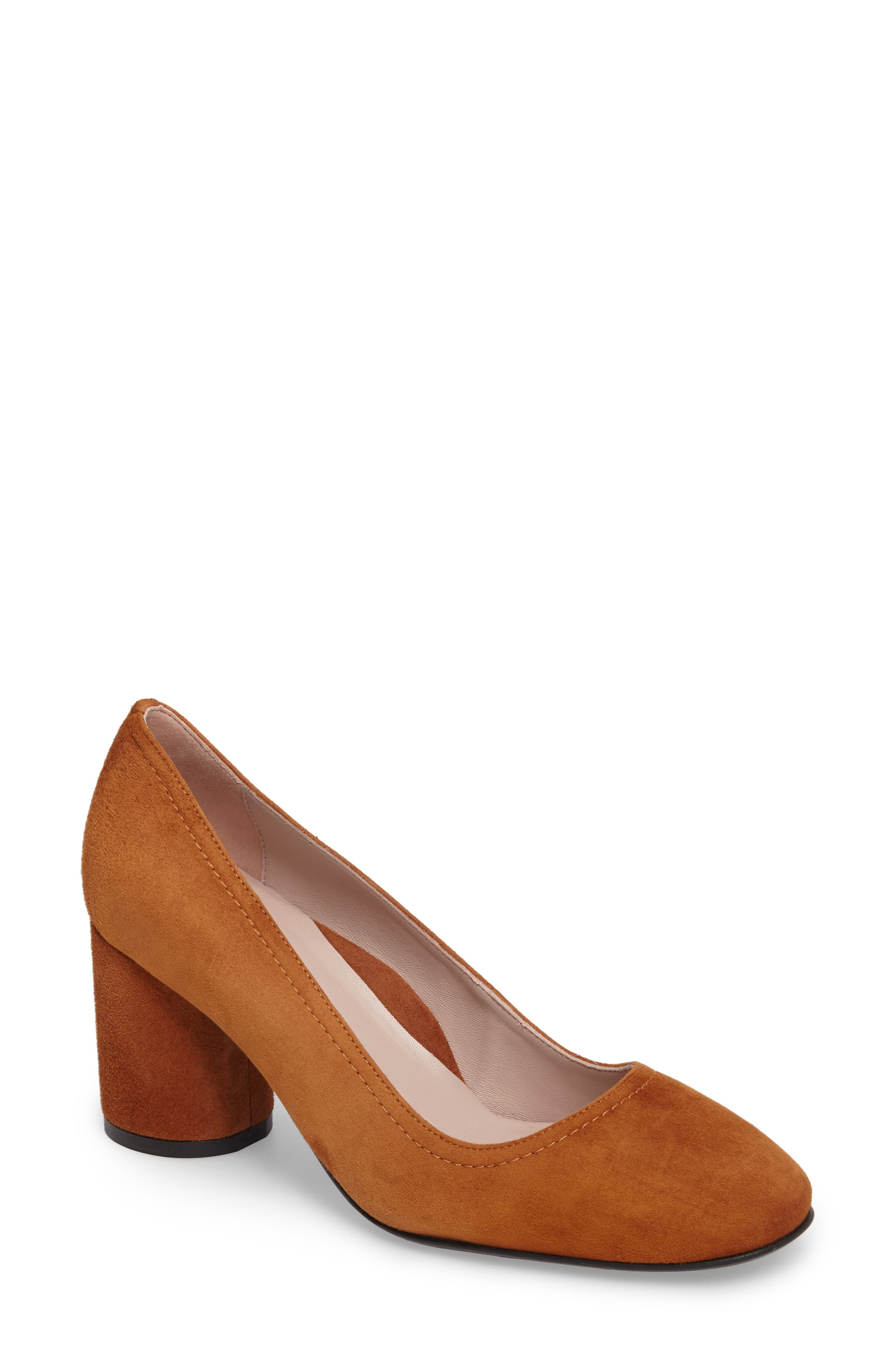 Filomena Block Heel Pump by Taryn Rose