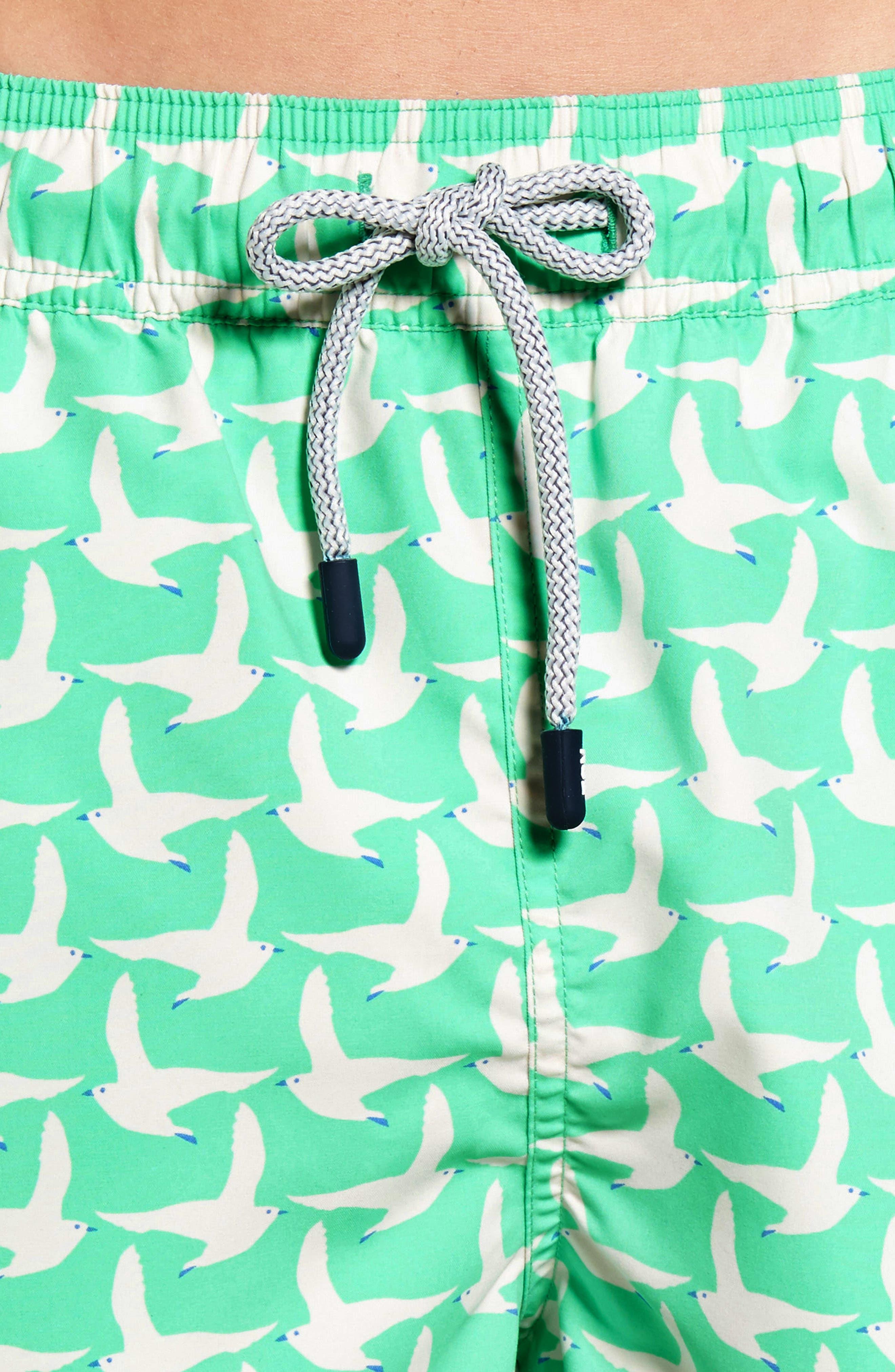 Alternate Image 4  - Tom & Teddy Seagull Swim Trunks
